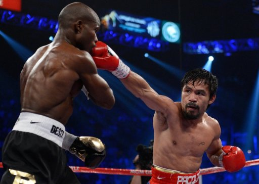 Manny Pacquiao's loss to Timothy Bradley hurt him in the eyes of some voters. (AFP)