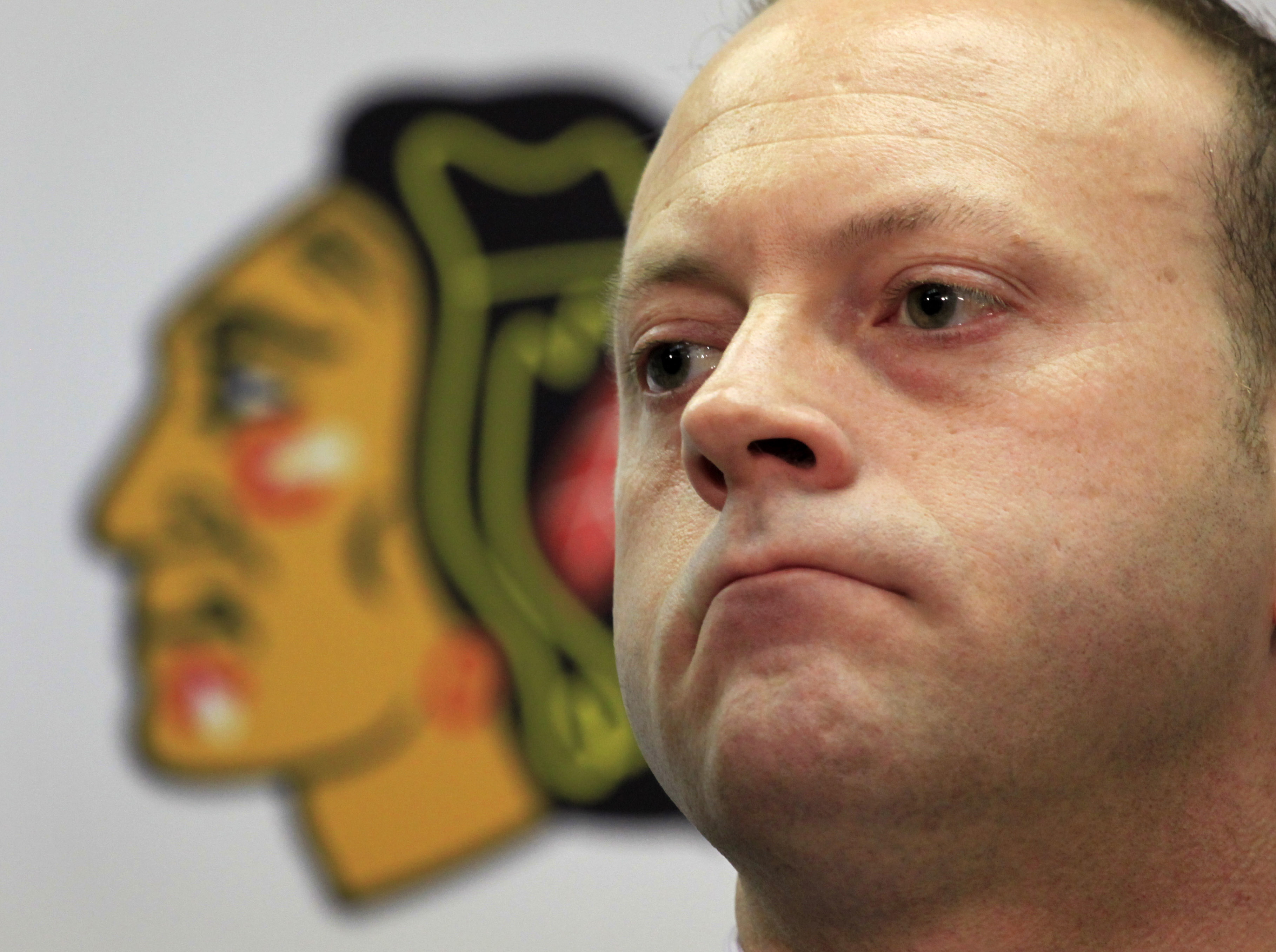 Chicago GM Stan Bowman committed to the team's stars and surrounded them with complementary players. (AP)