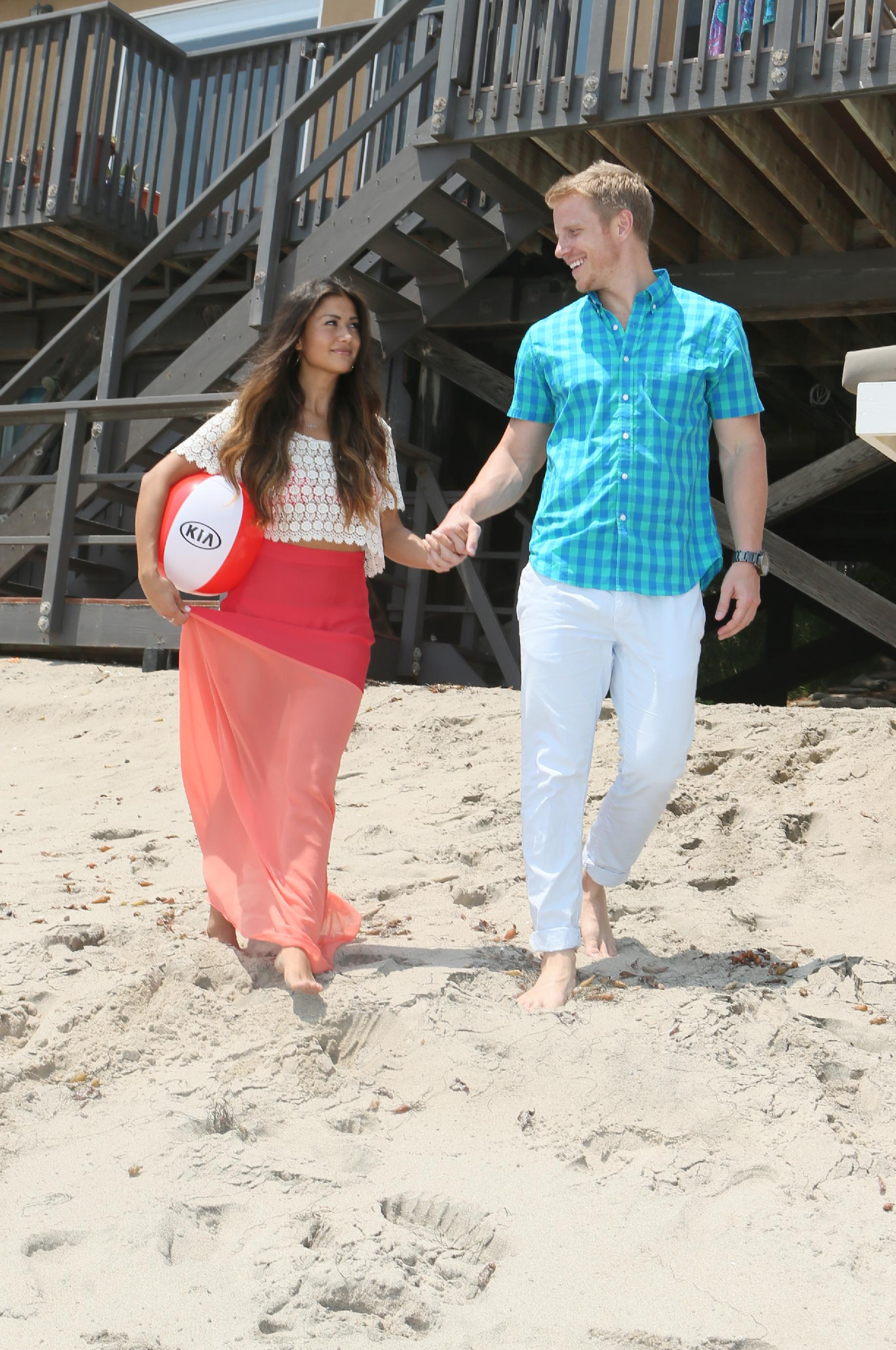 Catherine Giudici and Sean Lowe (Photo by Alexandra Wyman/Invision for Kia Beach House/AP Images)