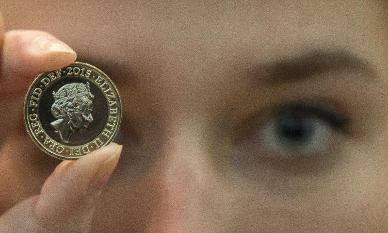 New coinage portrait of Queen Elizabeth II unveiled in UK