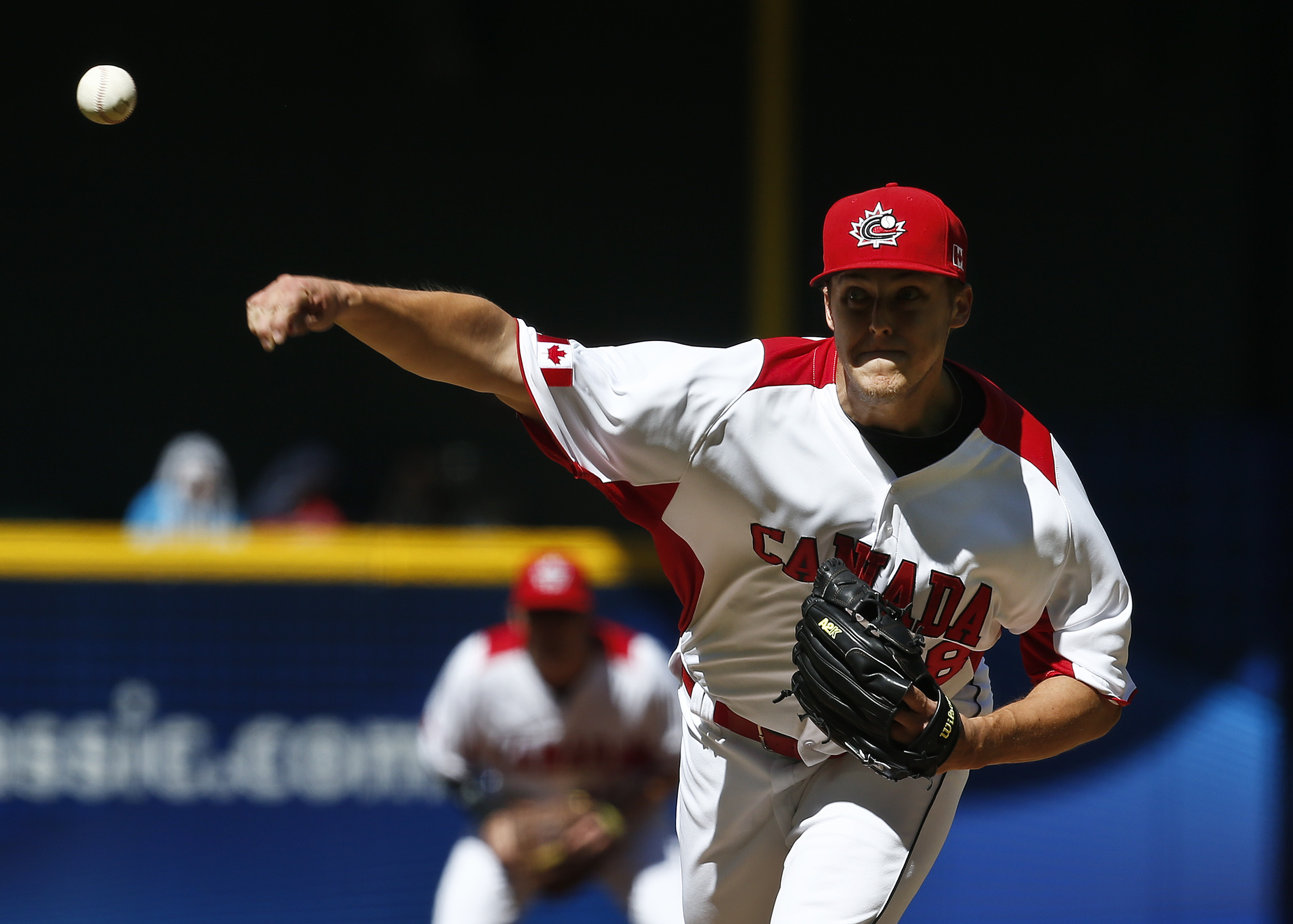 Canada's Jameson Taillon appears to be sticking with Canada. (The Associated Press)