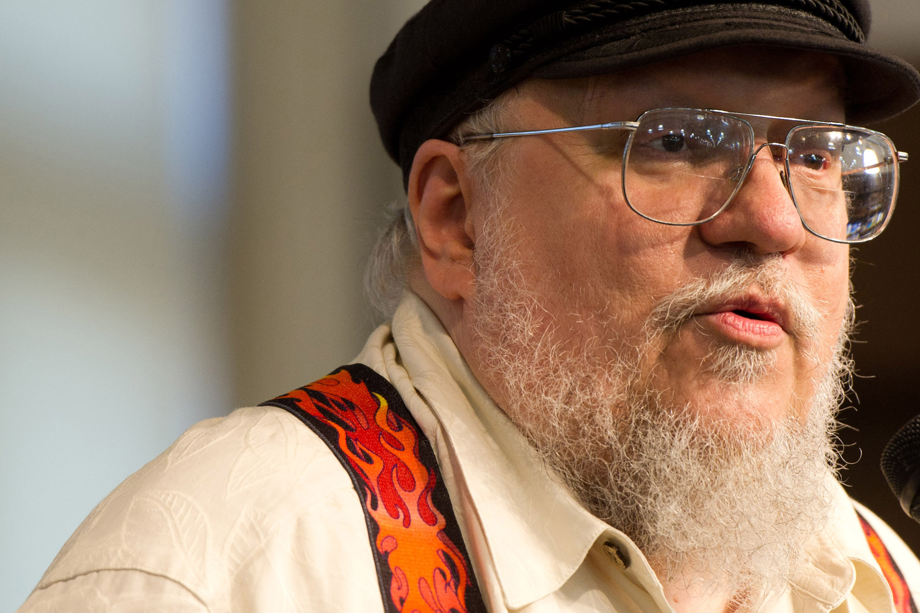 George R.R. Martin recalls TV pilot with alien at Super Bowl
