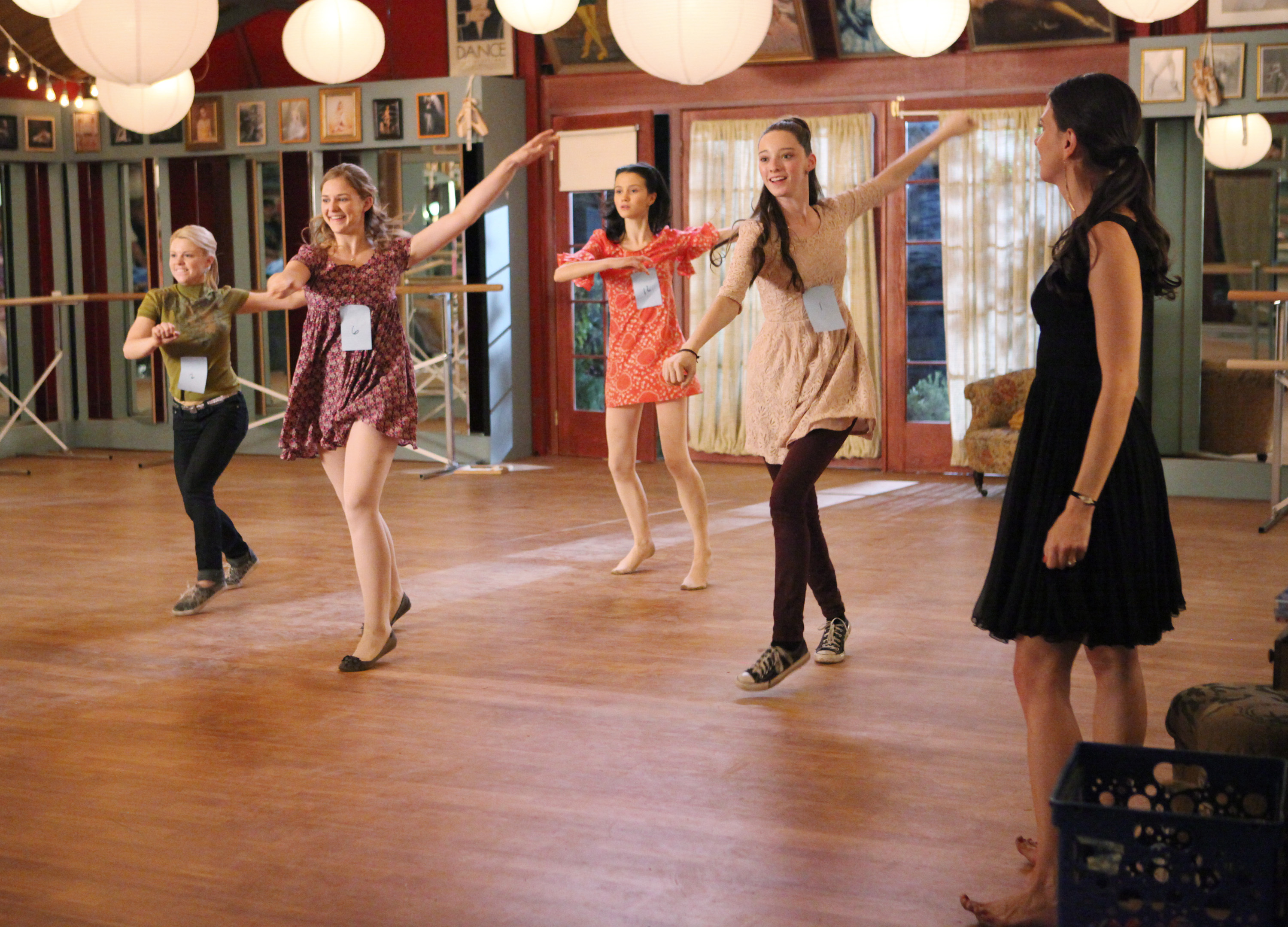 The fate of 'Bunheads' hangs in the balance as the show's set is torn down. (Adam Taylor/AP Photo/ABC Family)