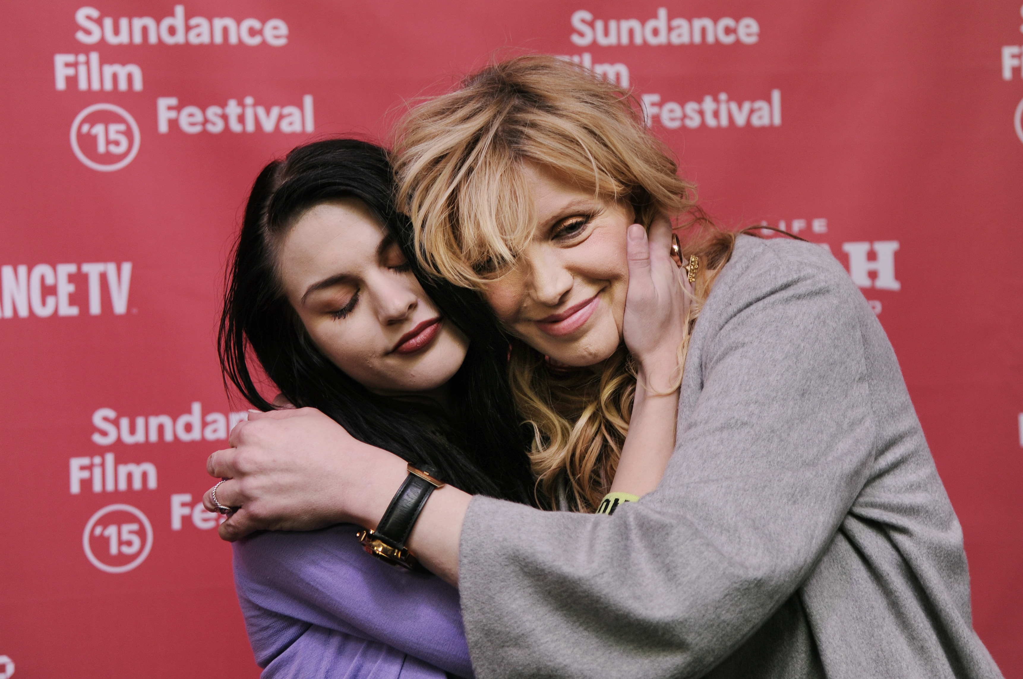 Courtney Love, Frances Bean appear together at Sundance