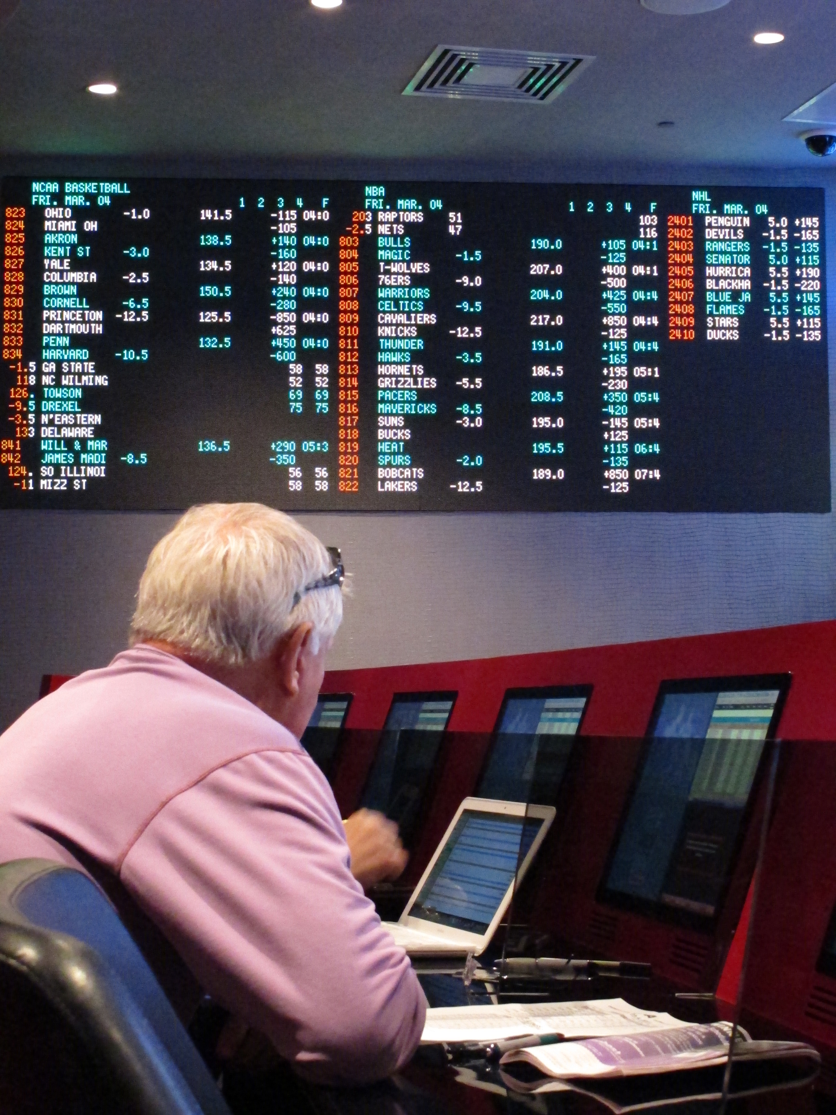 New Jersey could see Las Vegas-style sports wagering very soon. (AP)
