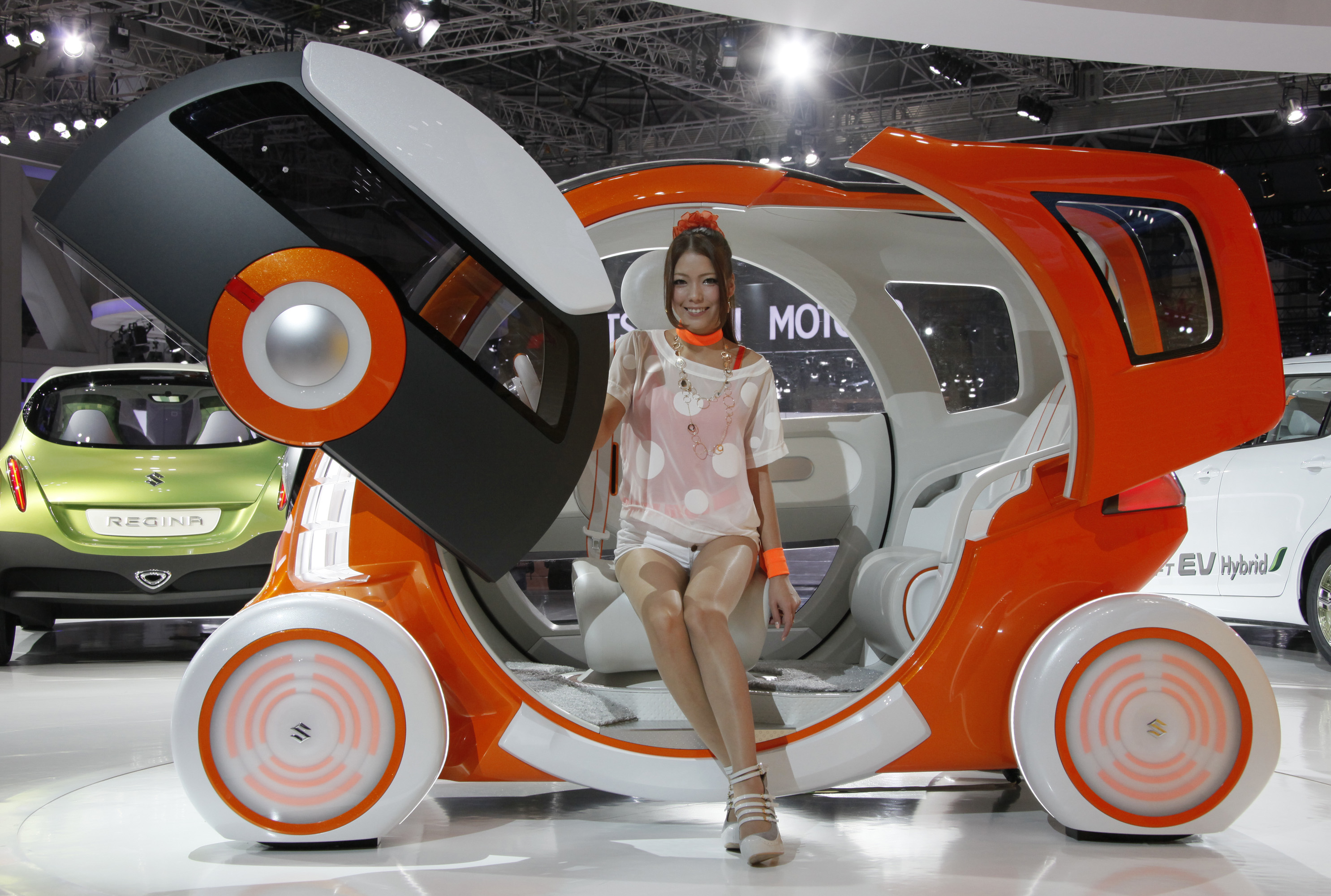 Innovative Concept Cars At The Tokyo Japan Motor Show 2011