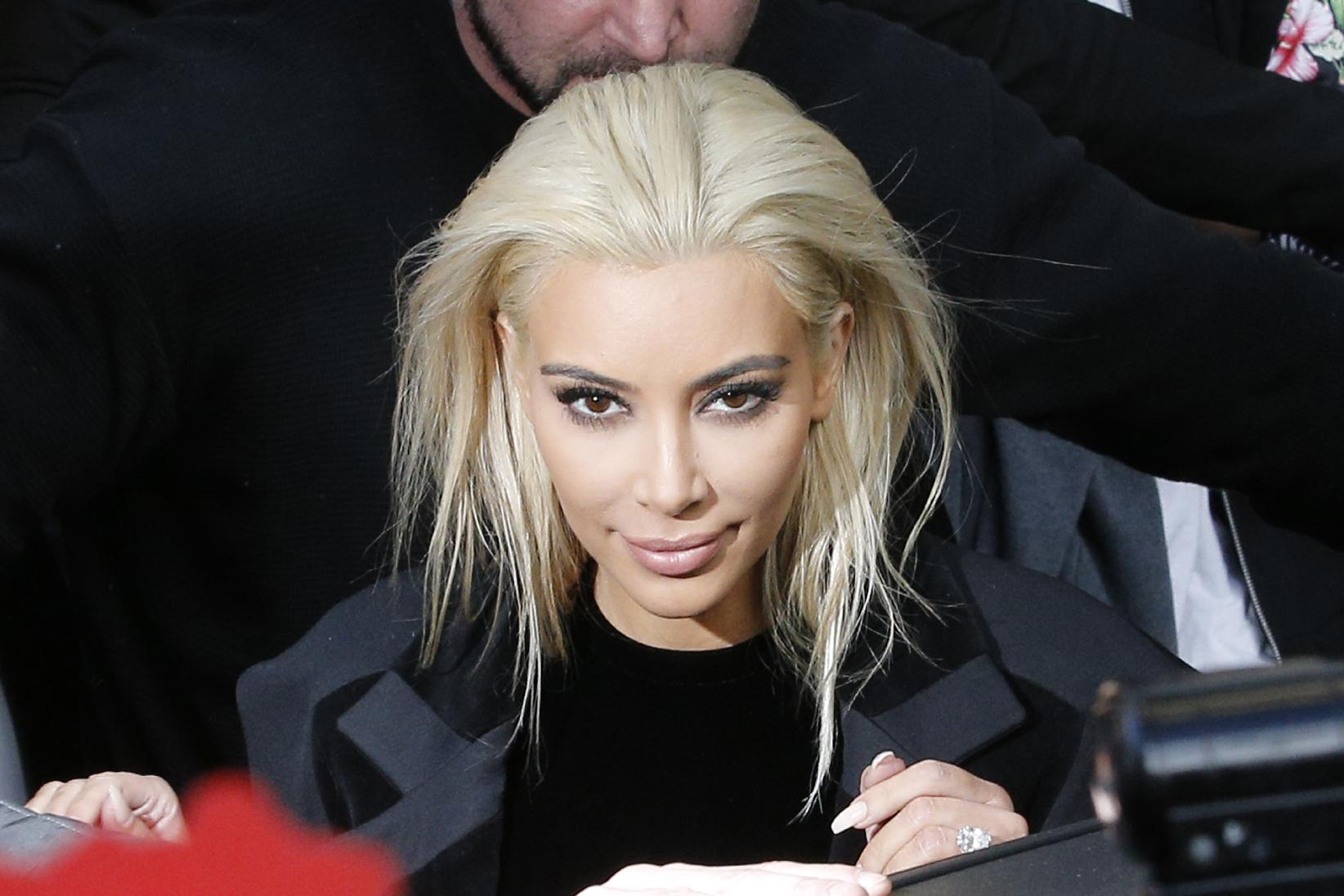 When in Paris: Kim Kardashian and Jared Leto go platinum