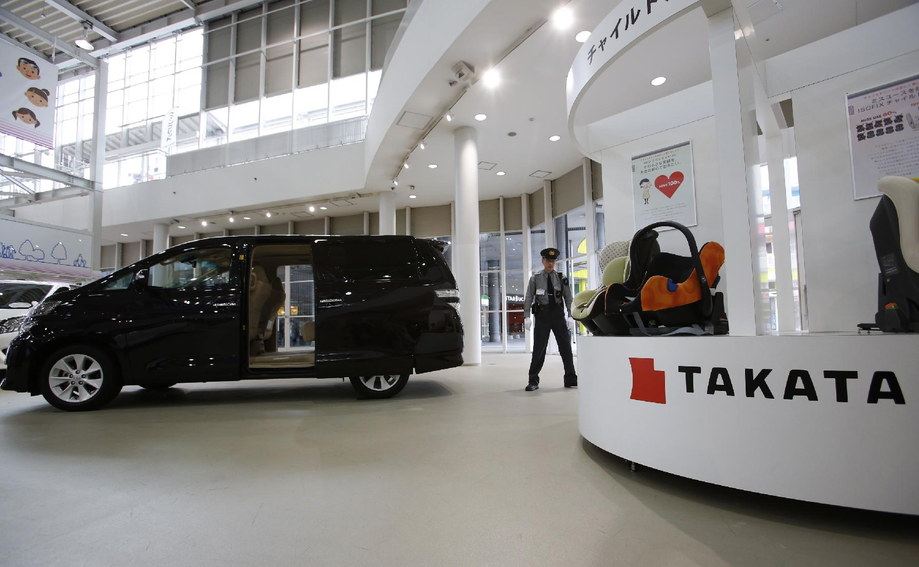 Toyota recalls cars in Japan, China for air bags(AP Photo/Shizuo Kambayashi, File)