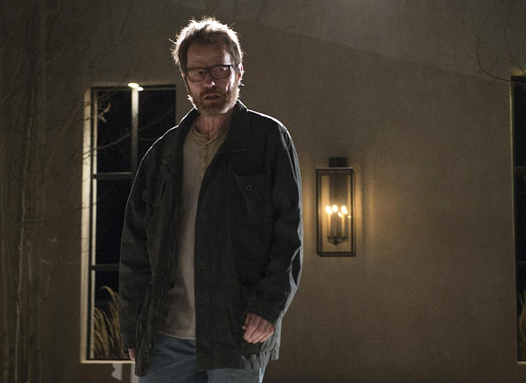 Bryan Cranston as Walter White in the series finale of 'Breaking Bad' (AP Photo/AMC, Ursula Coyote)