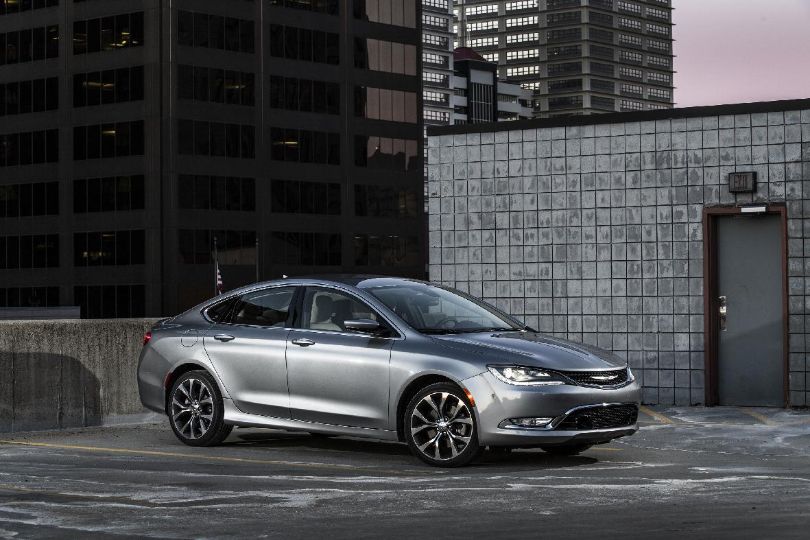 Chrysler's redesigned and re-engineered 2015 200 mid-size sedan has a strong 295-horsepower V-6, comfortable ride, surprisingly good handling and a lengthy list of available features. (AP Photo/Chrysler)