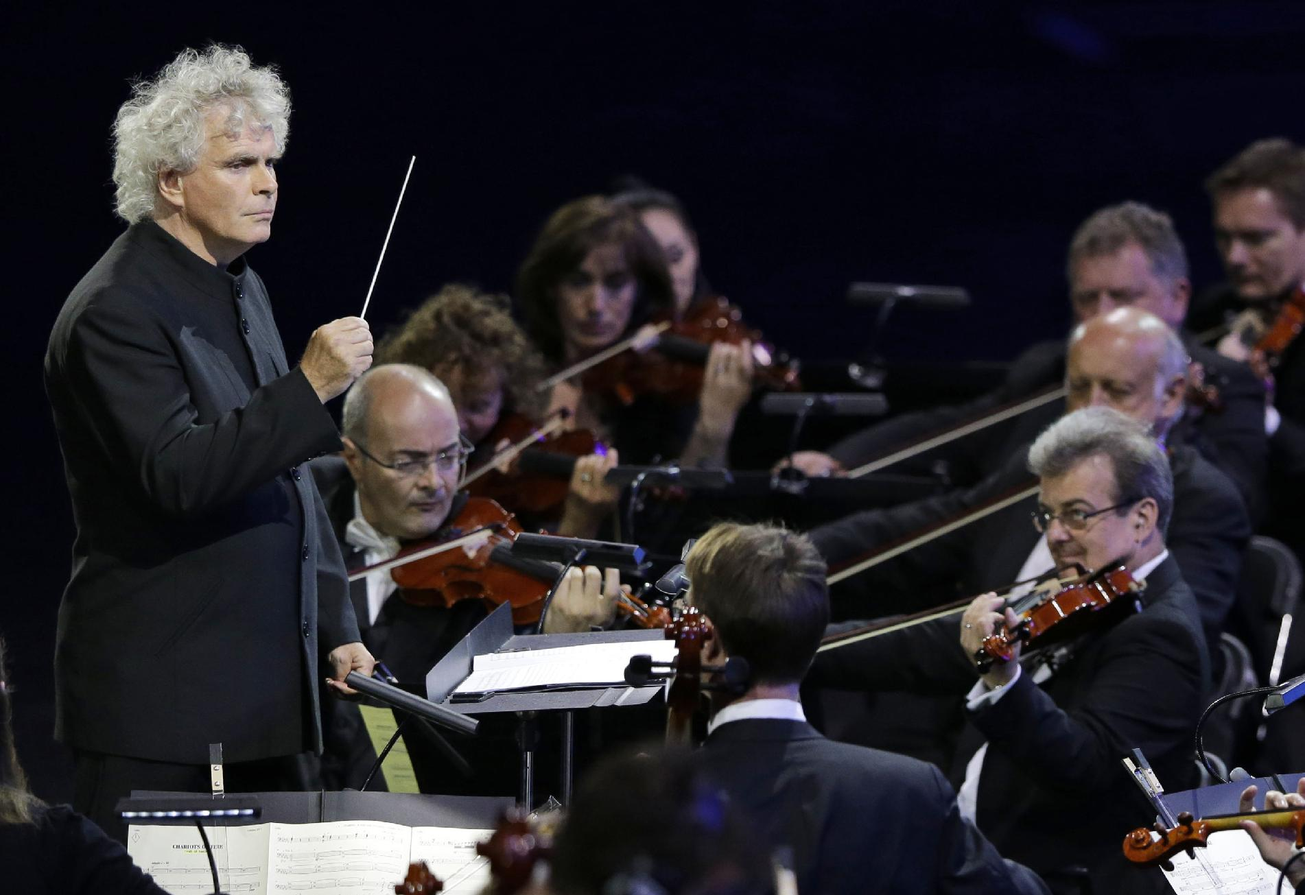 Simon Rattle named music director of London Symphony