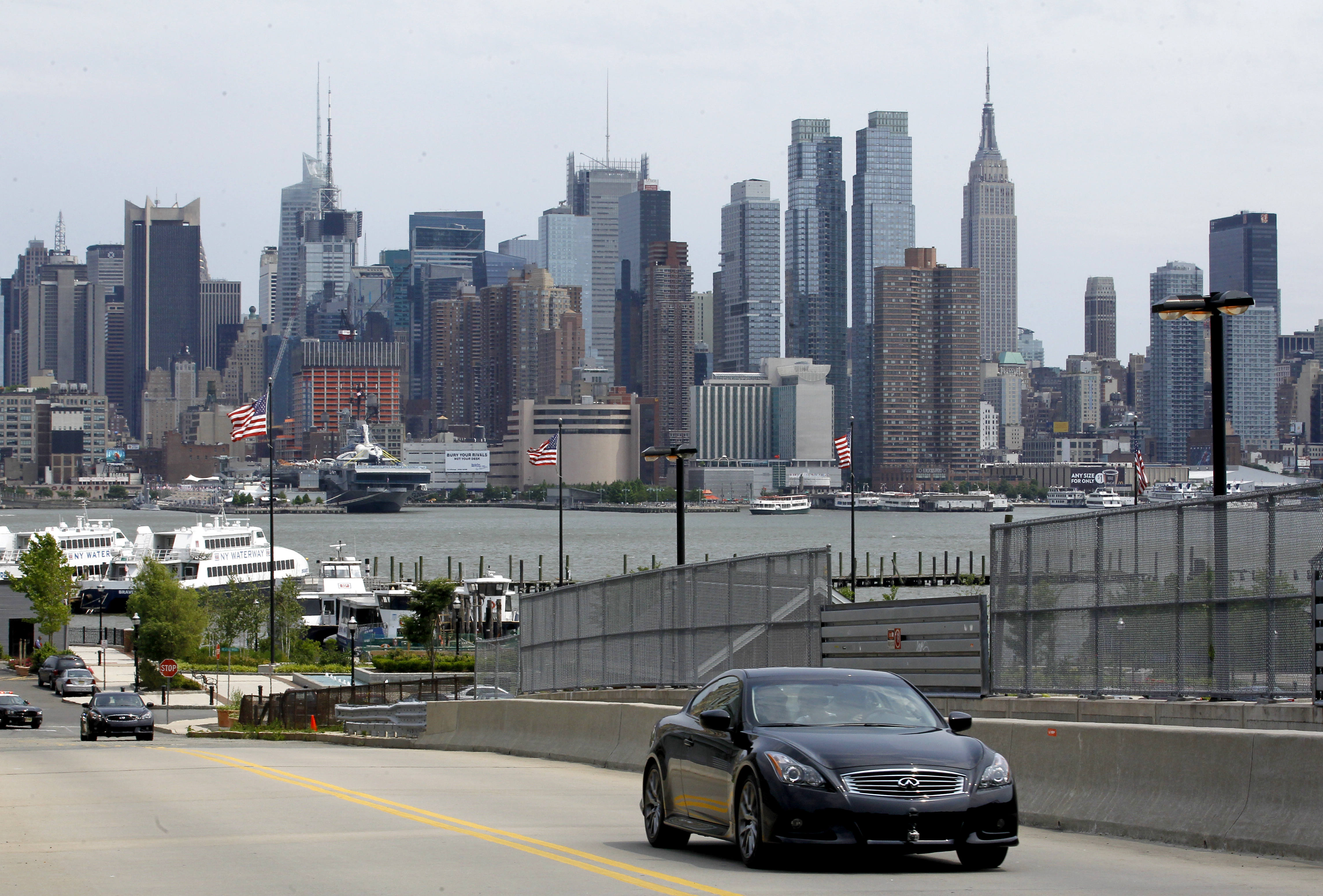 New York City skyline. (AP Photo/Julio Cortez)