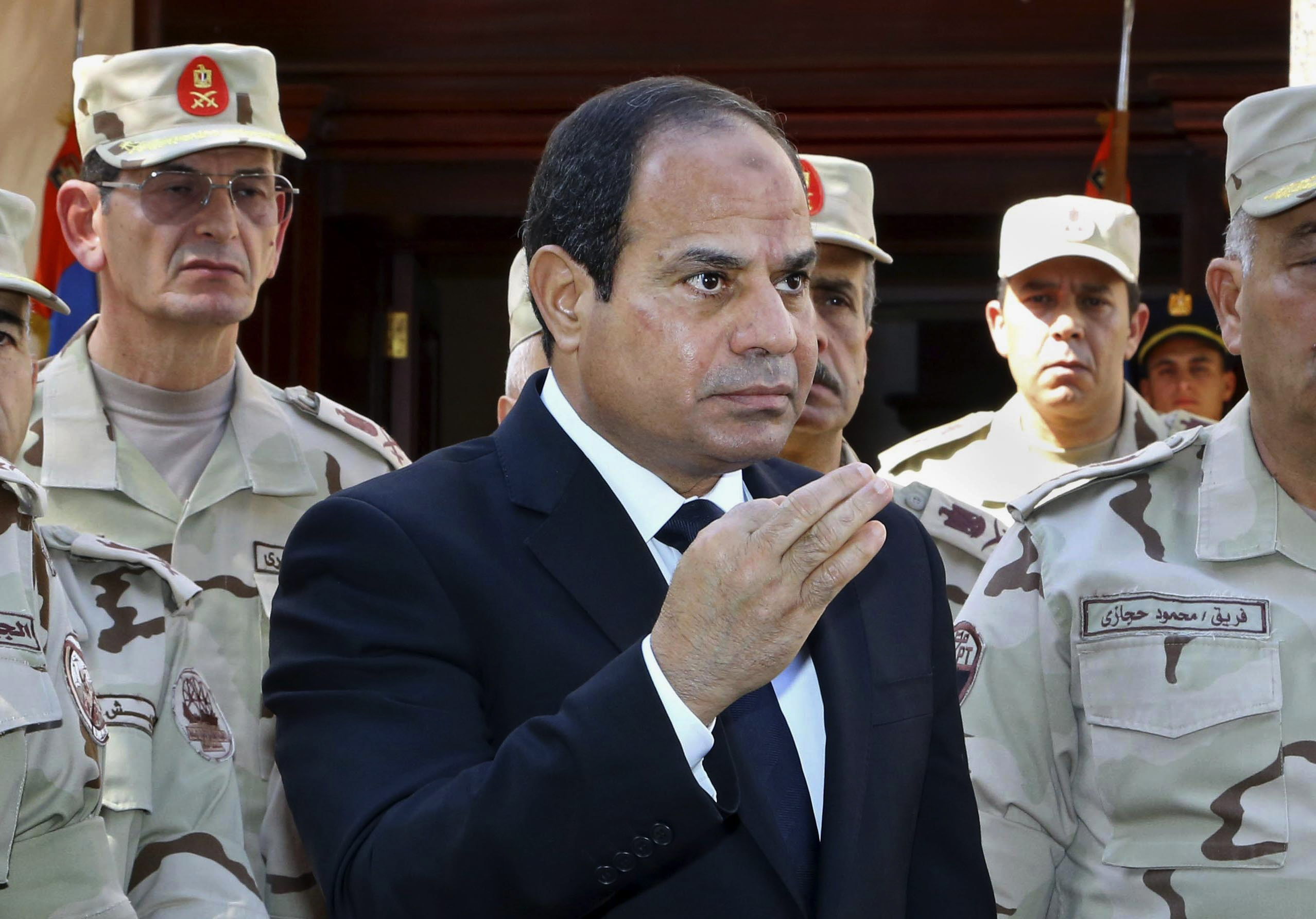 Egypt leader: 'Foreign hands' behind Sinai attack