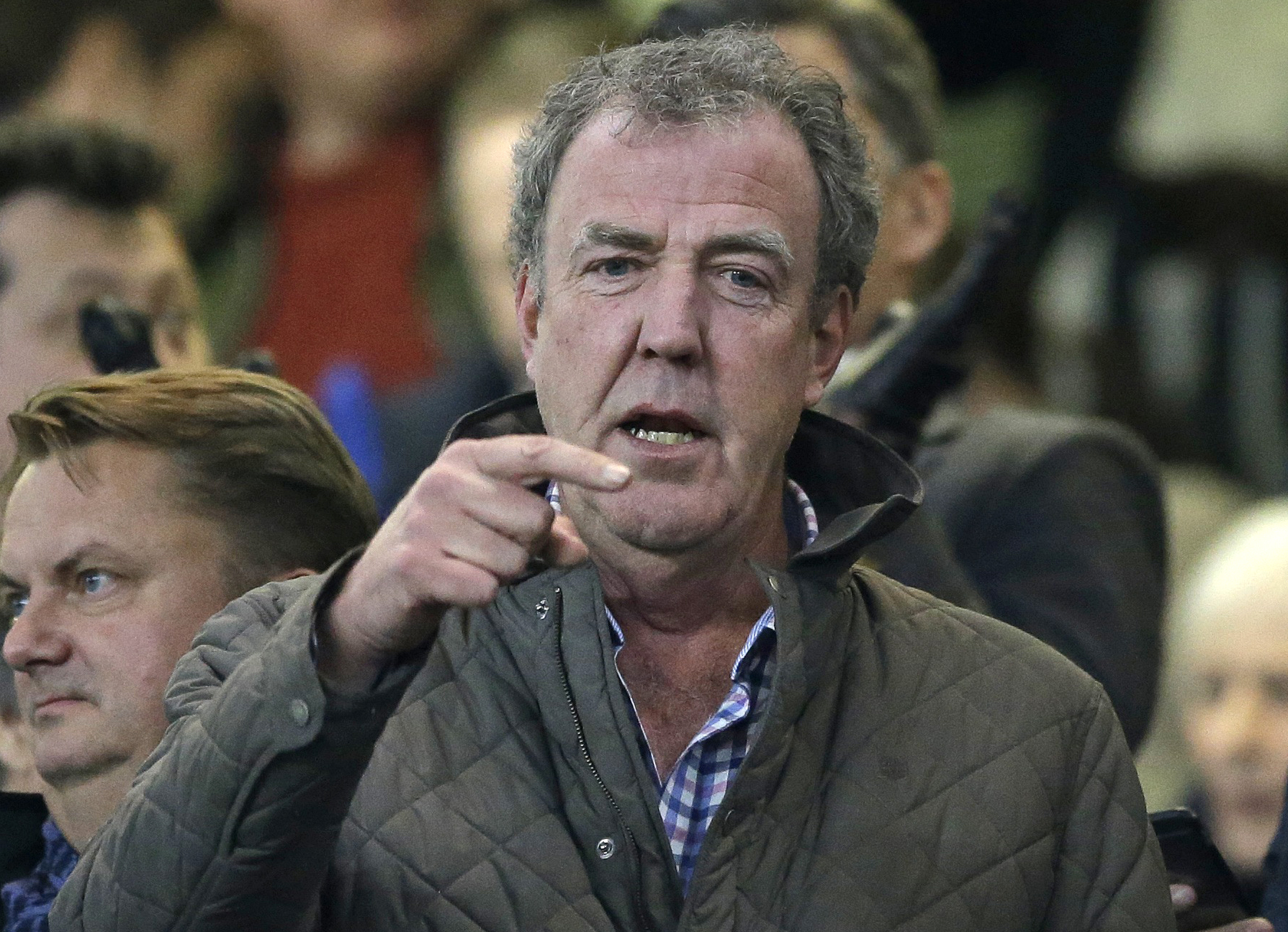 Russian military TV station offers job to Jeremy Clarkson