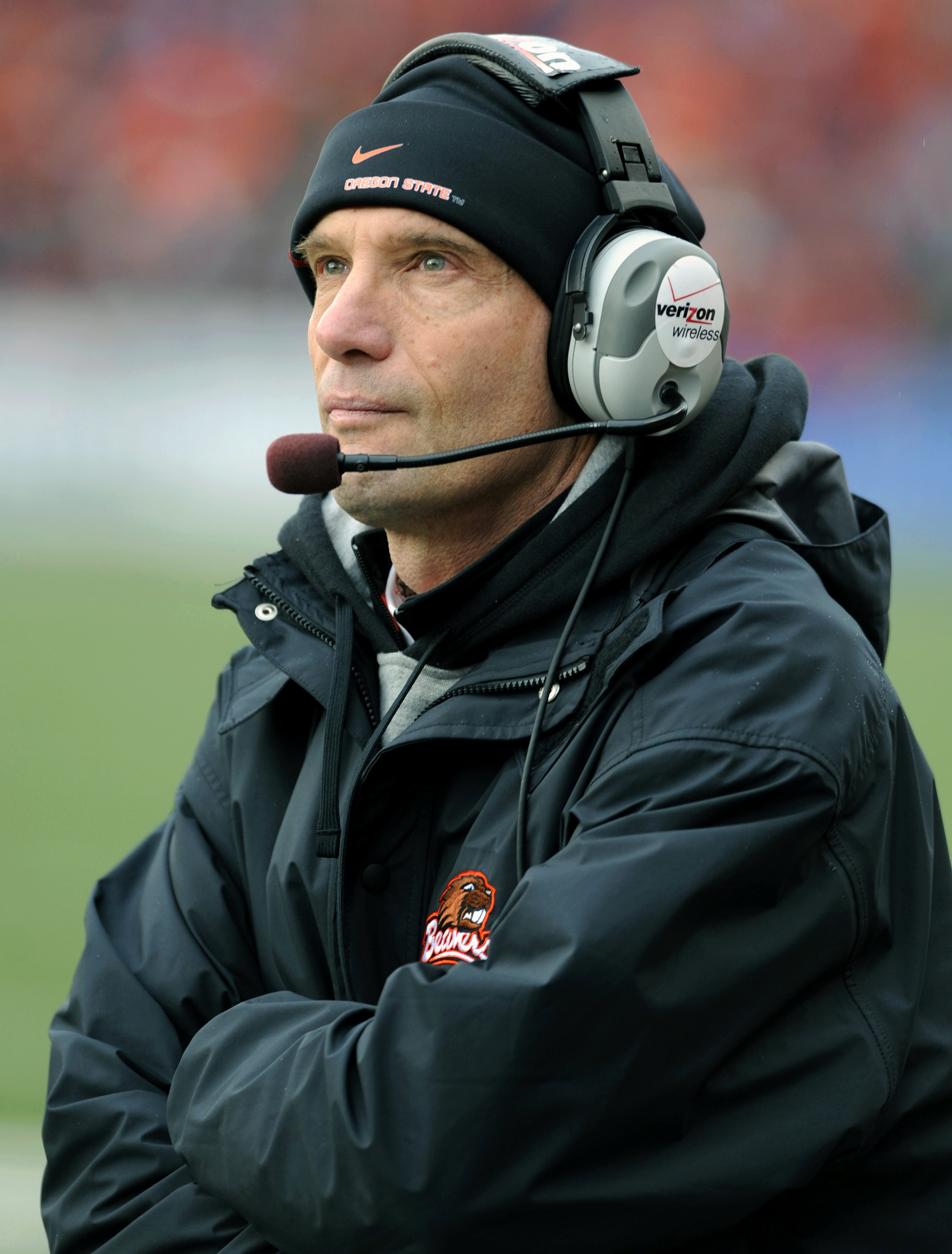 As successful as he has been, Mike Riley probably wouldn't survive another three-win season. (AP)