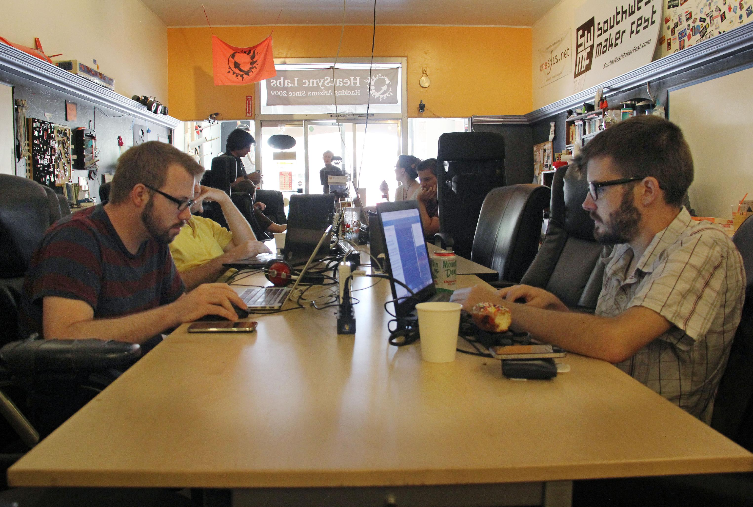 Hackerspaces help techies turn ideas into reality