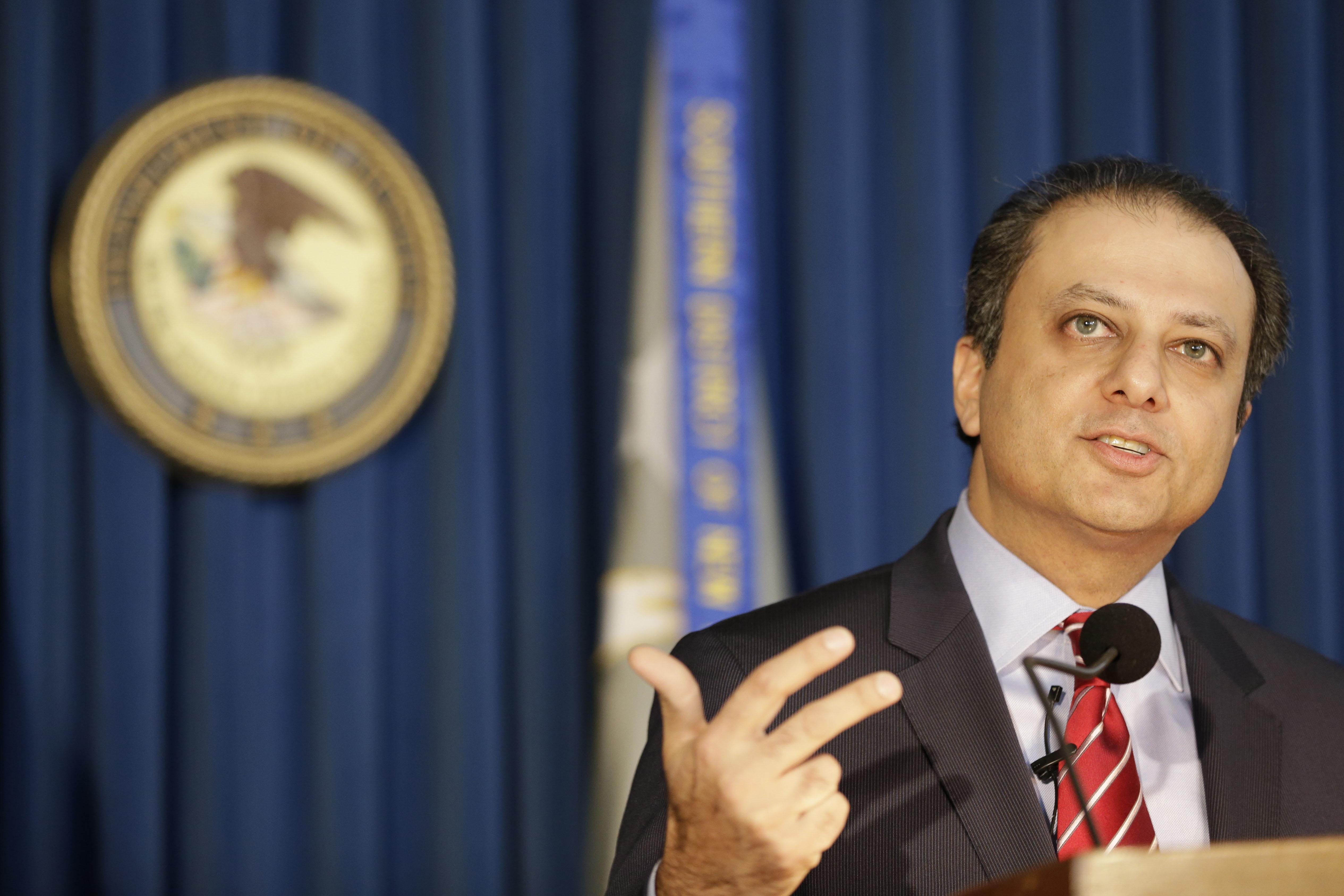 US Attorney Preet Bharara faces setbacks amid NY success run