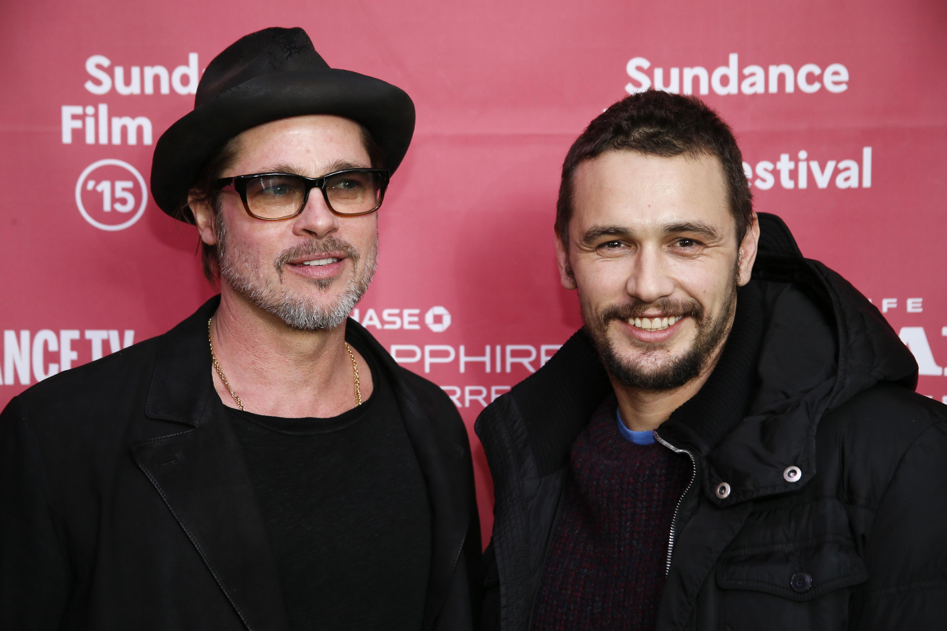 Quick Quote: When James Franco met Brad Pitt