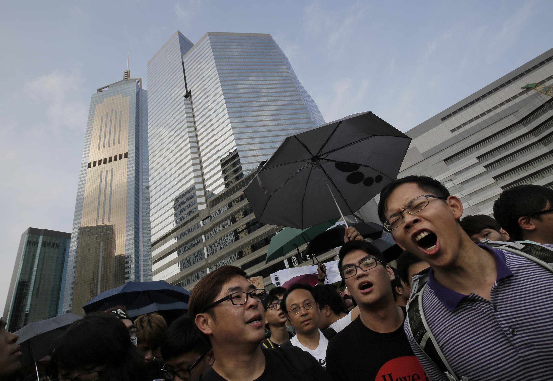 Taiwan throws support behind Hong Kong protests