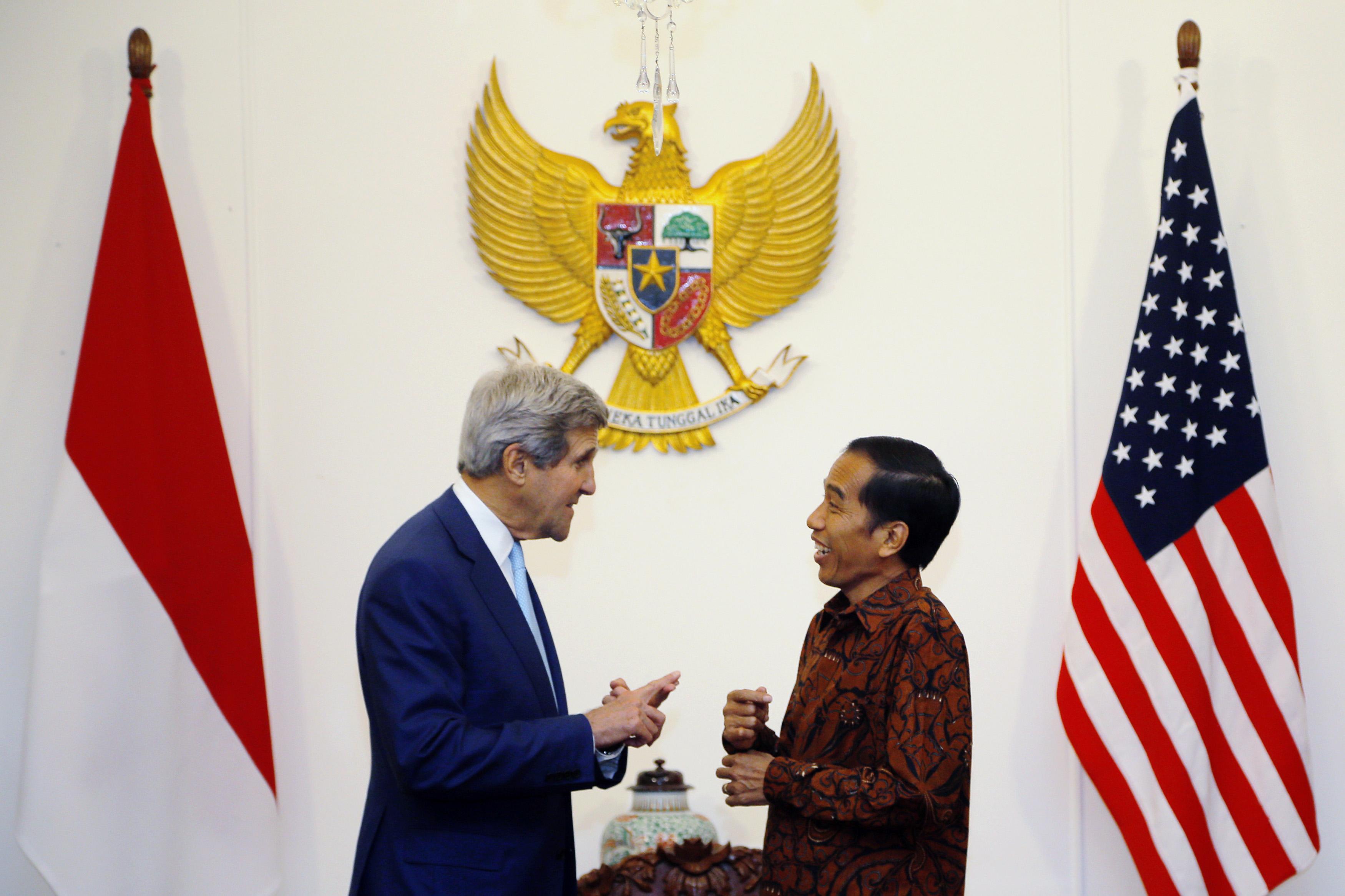 Kerry seeks Asian help against IS