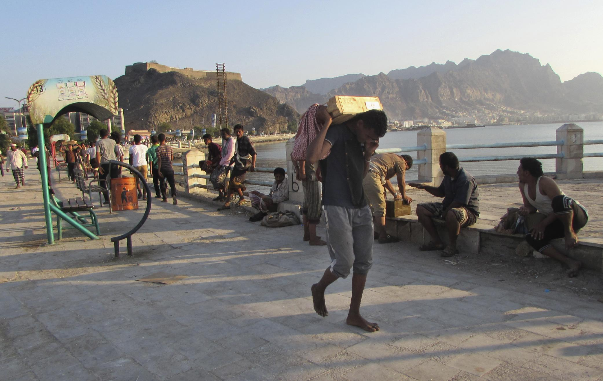 Yemen's president calls Shiite rebels 'puppets of Iran'