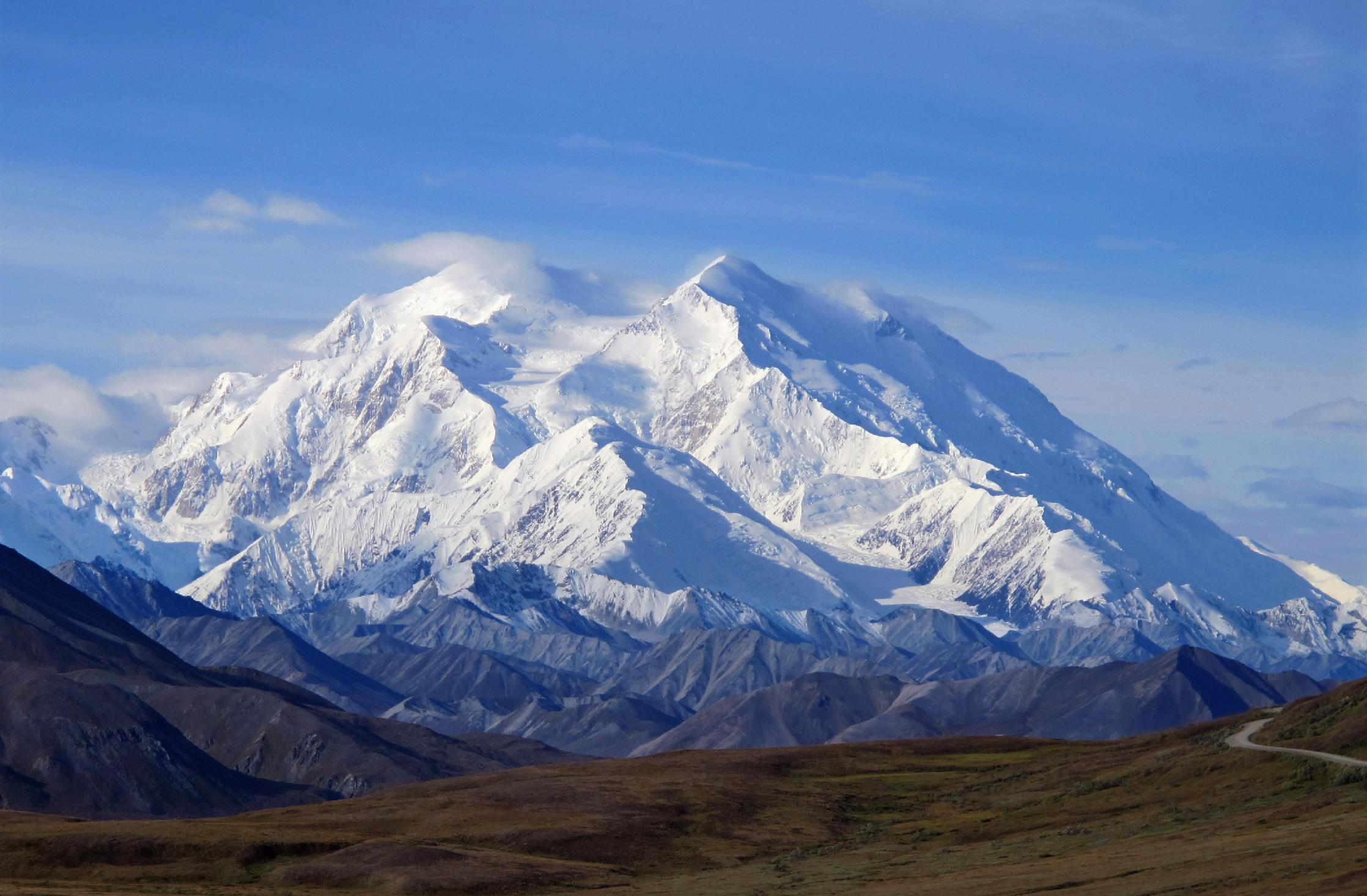 White House renames Mount McKinley as Denali on eve of trip