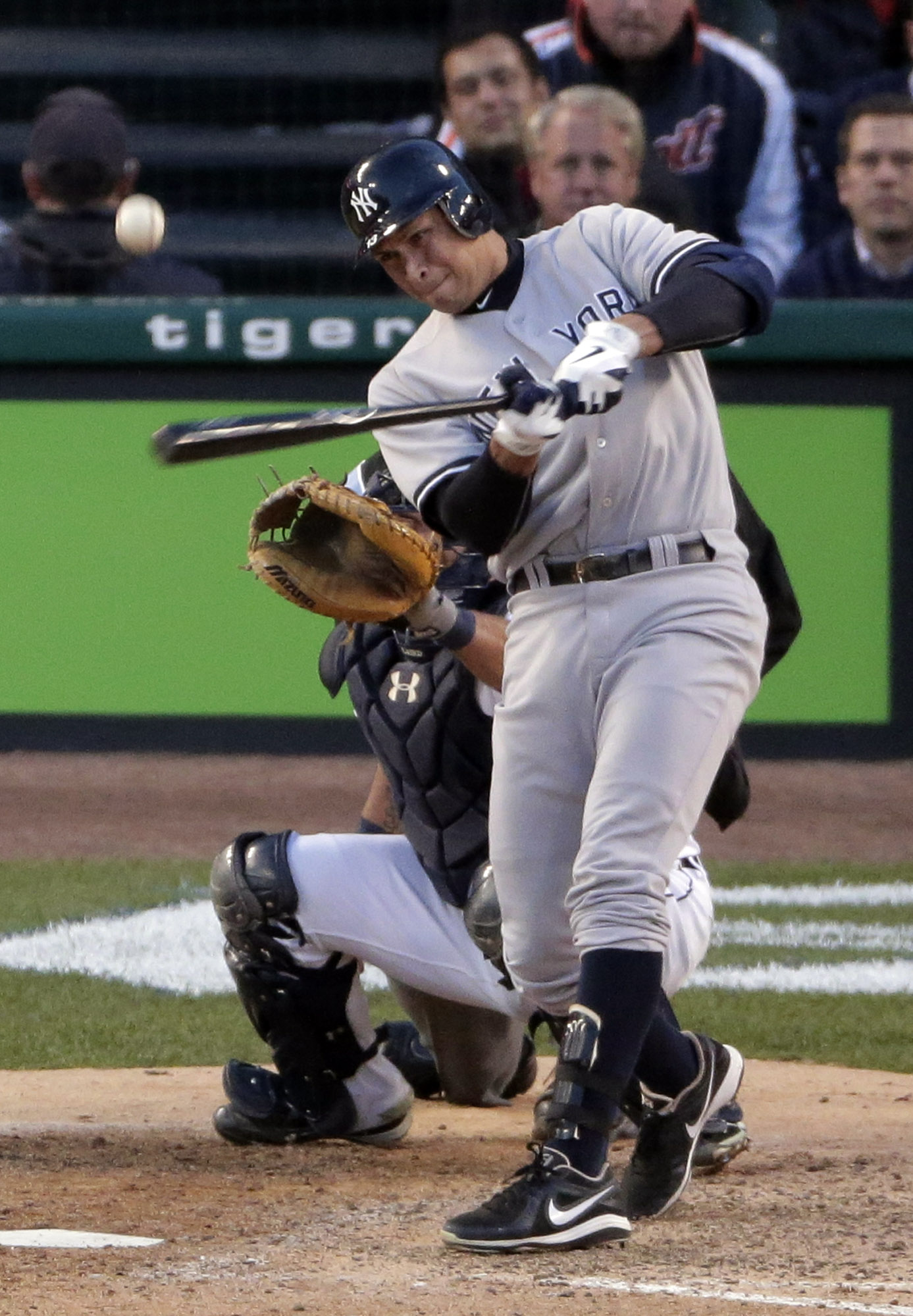 The Yankees' Alex Rodriguez has a tear in his left hip. (AP)