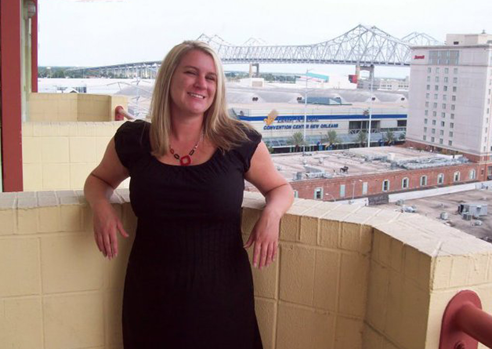 This undated photo provided by the The Cooper Firm on behalf of the Melton family shows Brooke Melton, who was killed in a car crash while driving her Chevrolet Cobalt near Atlanta in March 2010. The Melton family settled a wrongful death lawsuit against General Motors. The family's lawyers now want to reopen the case and show that GM fraudulently concealed a problem with the car's ignition switch. (AP Photo/Courtesy of the Melton family)