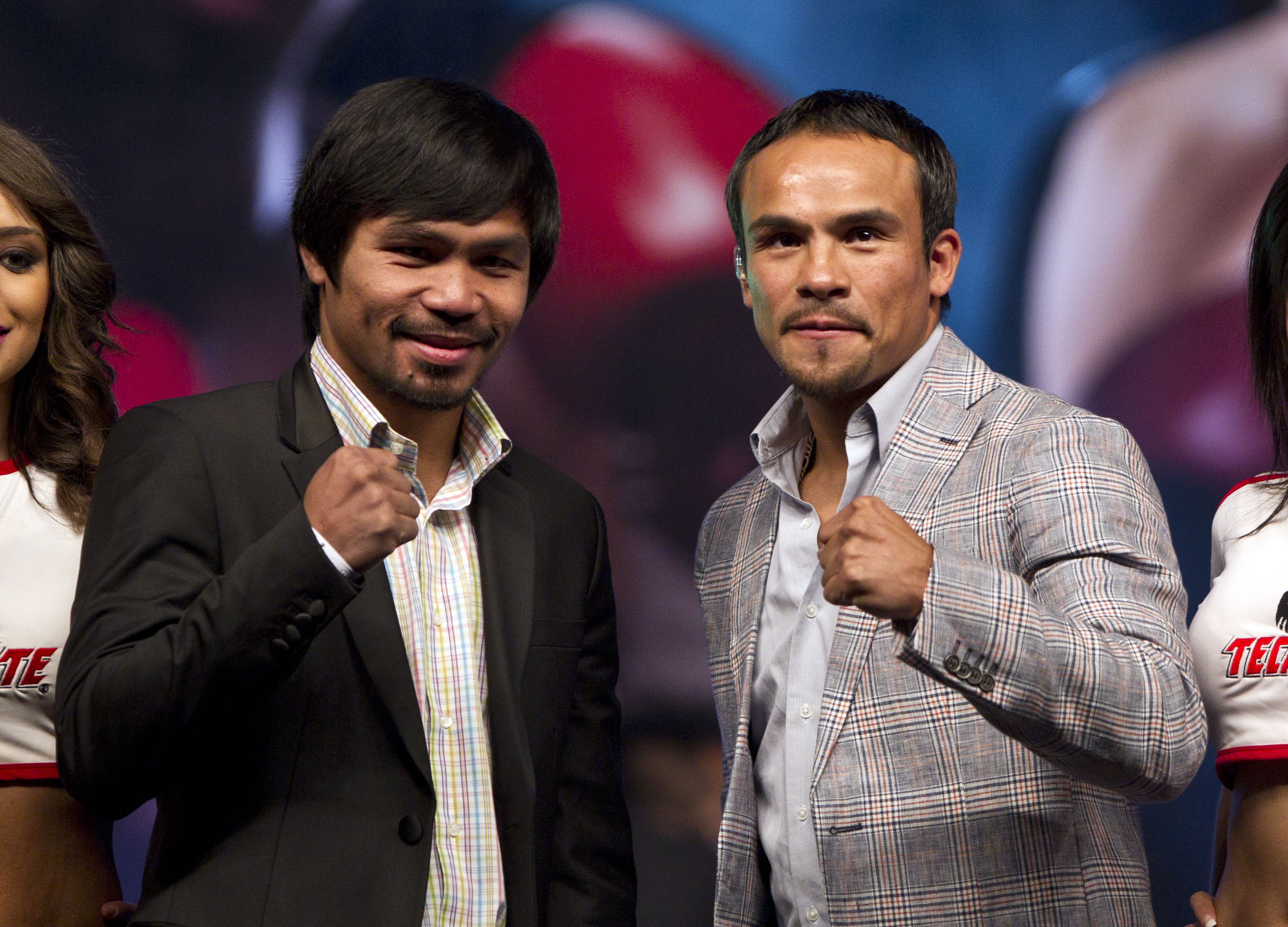 Manny Pacquiao and Juan Manuel Marquez will face each other for the fourth time. (AP)
