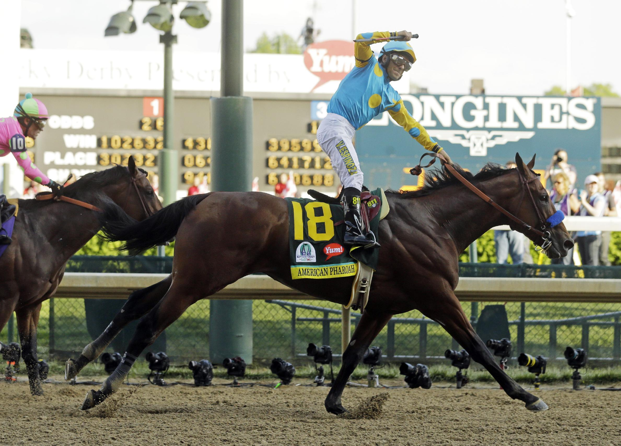 The Latest: Keep black cats away from Baffert