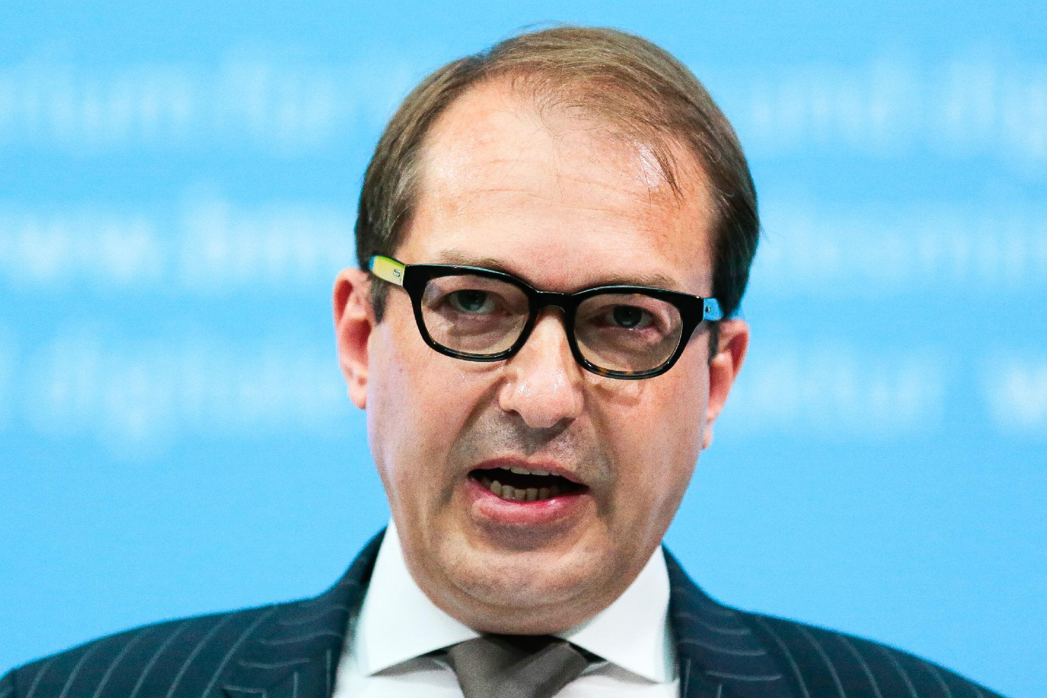 Alexander Dobrindt,German Minister of Transport and Digital Infrastructure - Germany targets foreign drivers with car toll (AP Photo/Markus Schreiber)