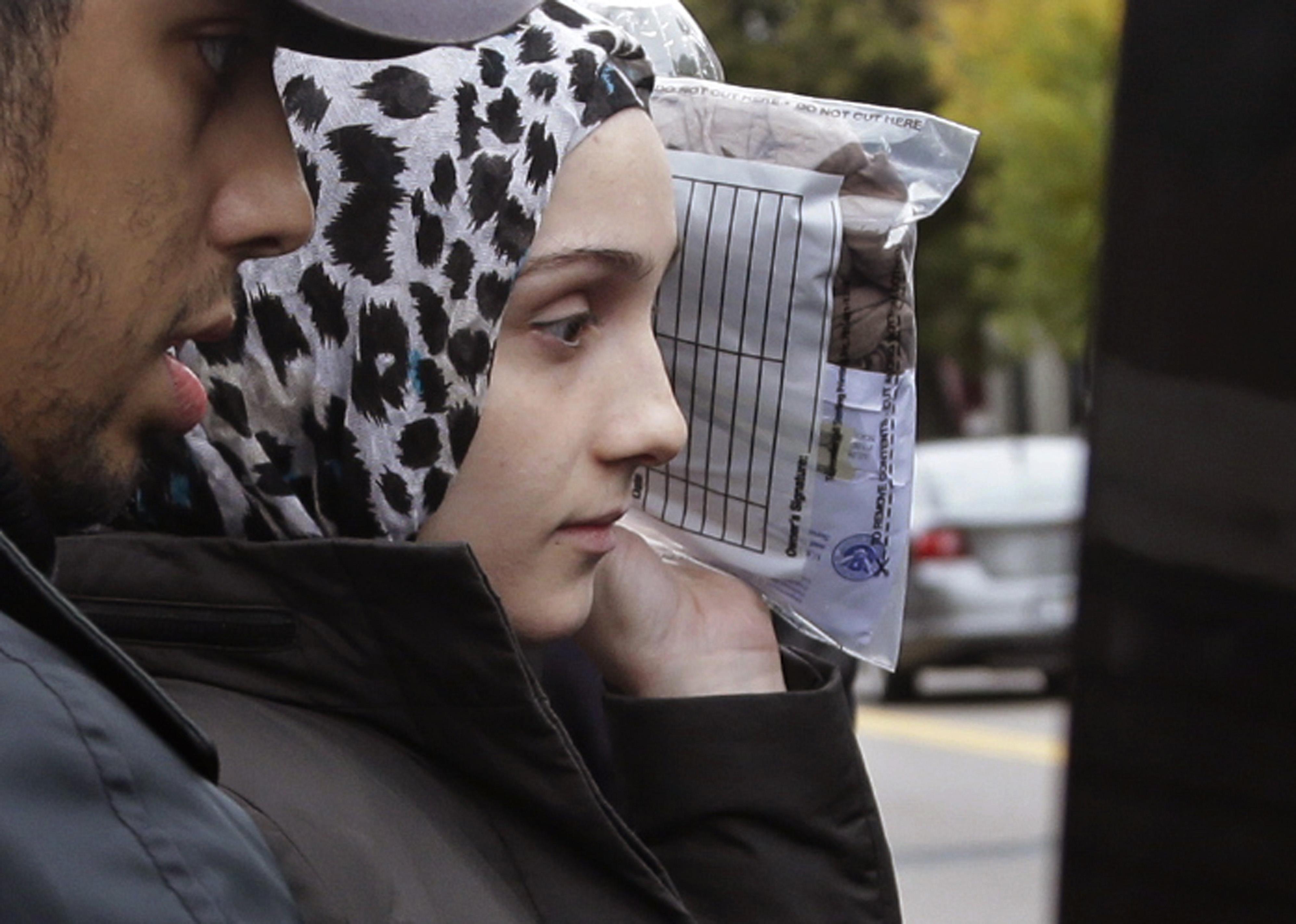 Tsarnaev sister appears in court for alleged bomb threat