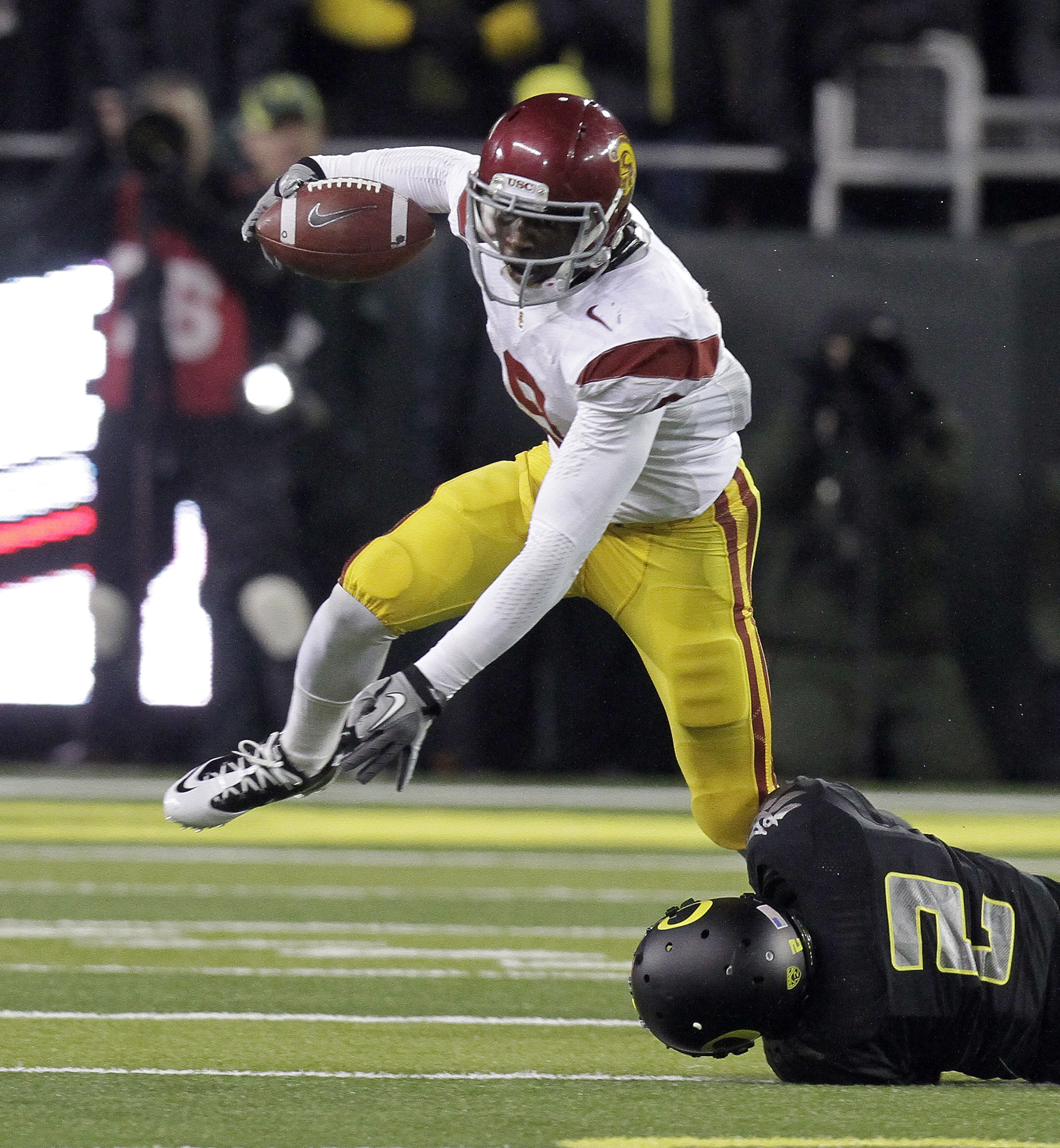 USC's Marqise Lee emerged as a big-play guy as a true freshman last fall. (AP)