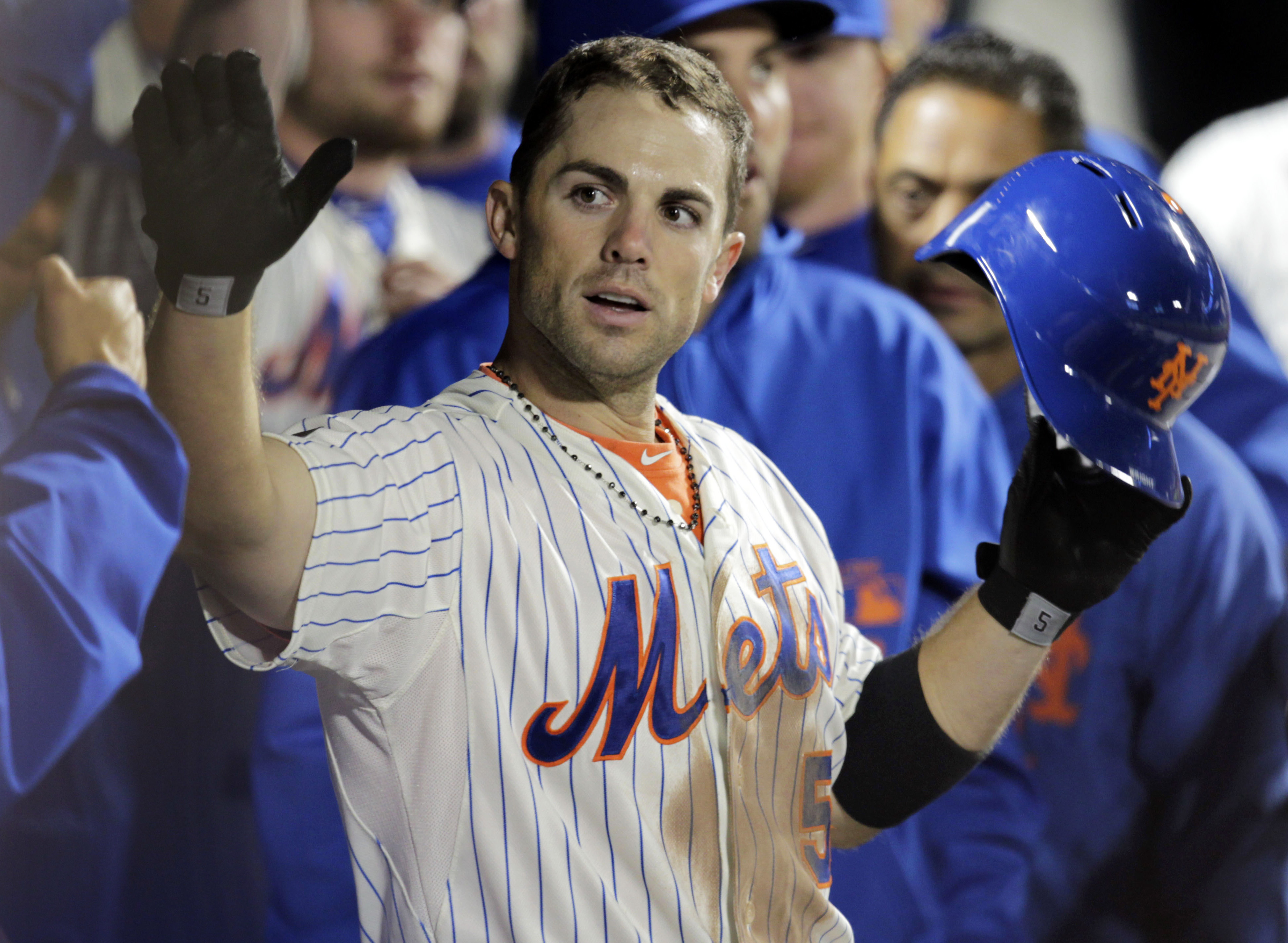 At least the Mets will have David Wright for what projects to be a painful 2013. (AP)