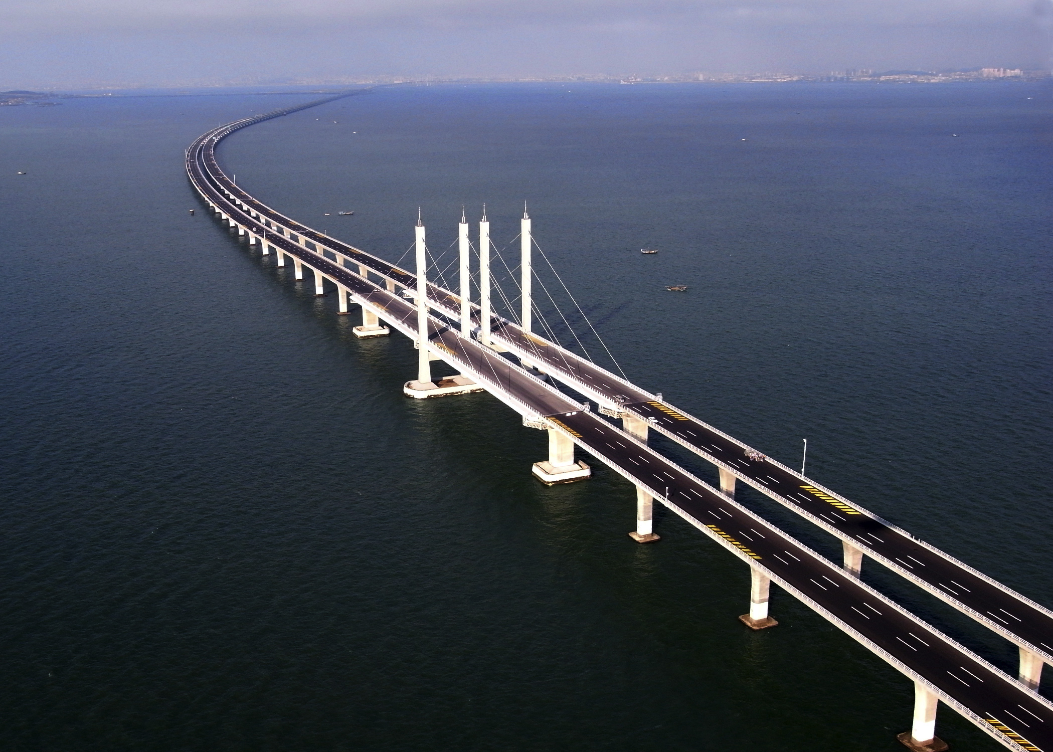 Jagansnews: Exclusive Photos: China opens world's longest sea bridge ...