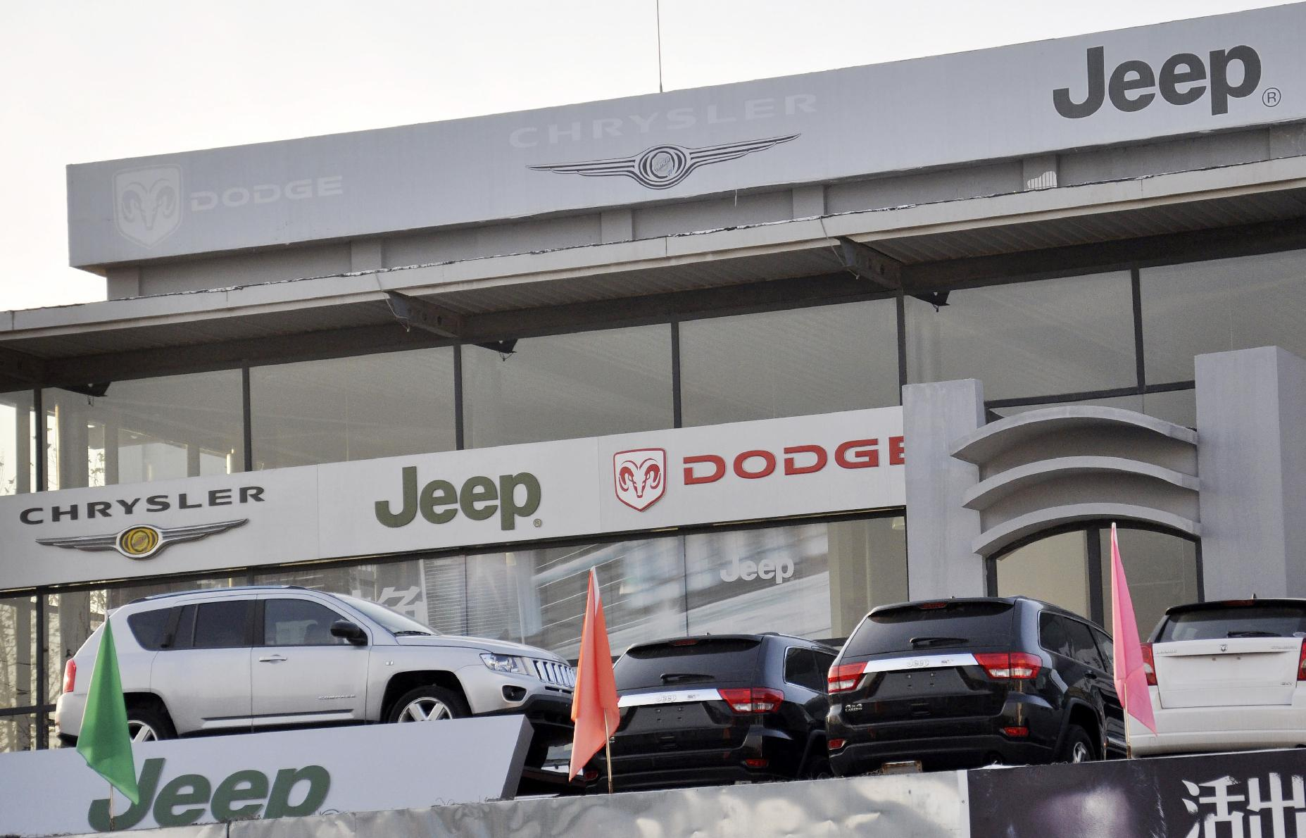 China fines Audi, Chrysler on monopoly charges