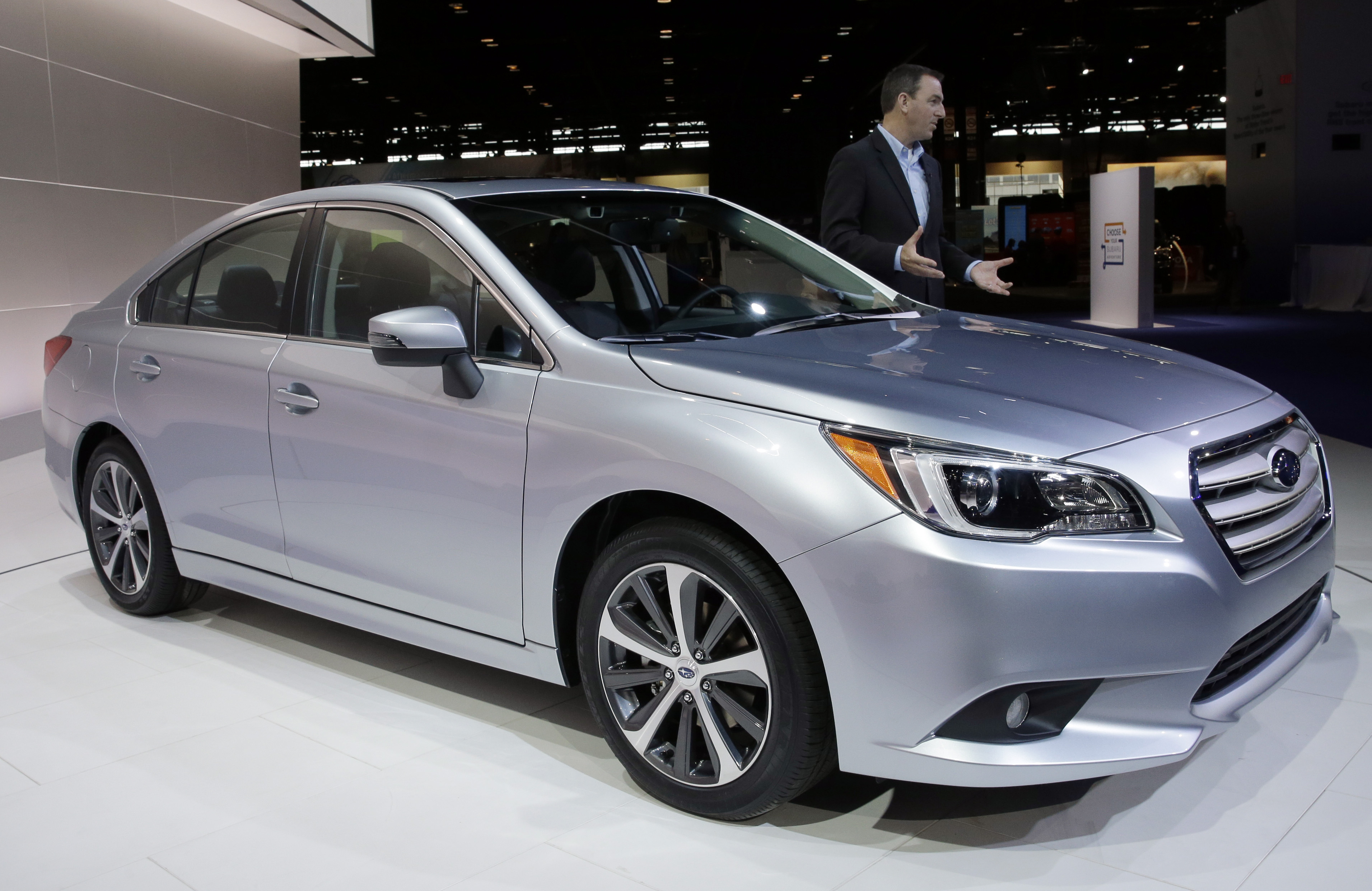 2015 Subaru Legacy debuts as Roomiest ever (AP photo/Nam Y. Huh, File)