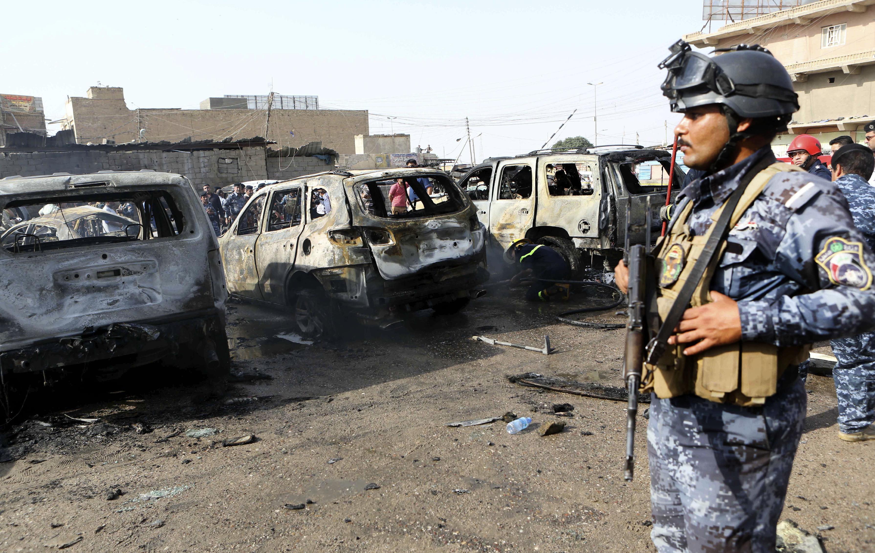25 killed in Baghdad car bomb, mortar attacks