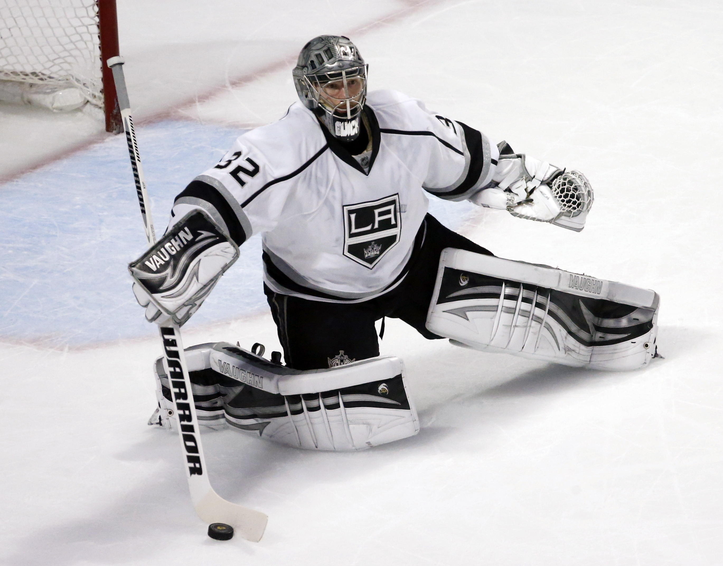 Several goalies have a compelling case for No. 1 in the rankings. We'll take Jonathan Quick. (AP)