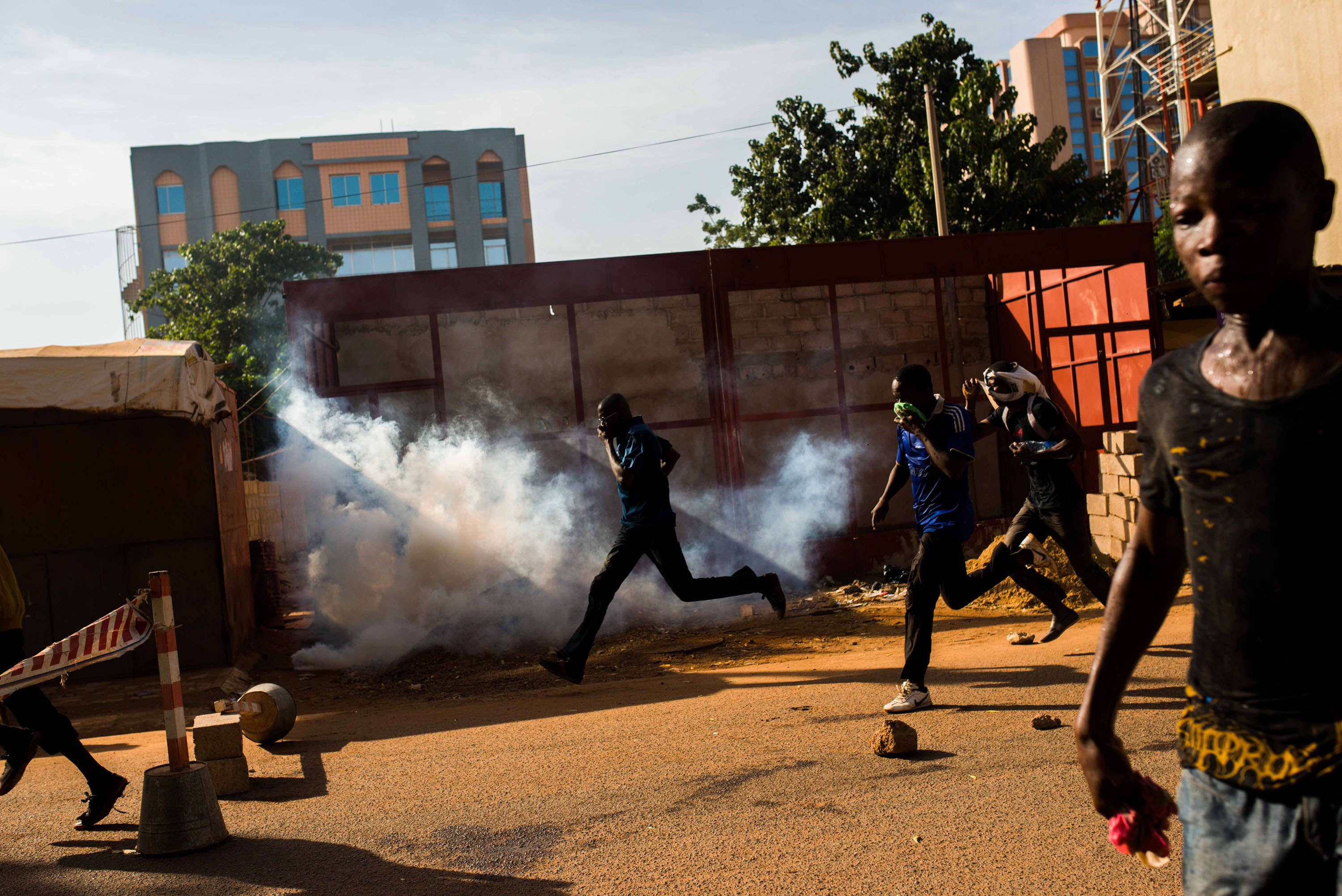 Following violent protests, president of Burkina Faso steps down