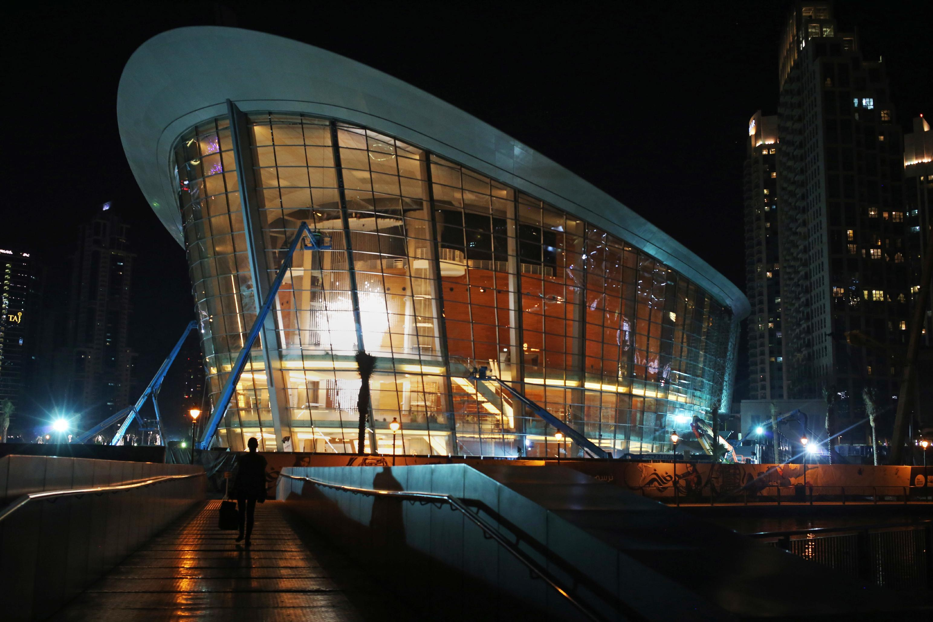 Skyscraper-filled Dubai burnishes arts scene with new opera
