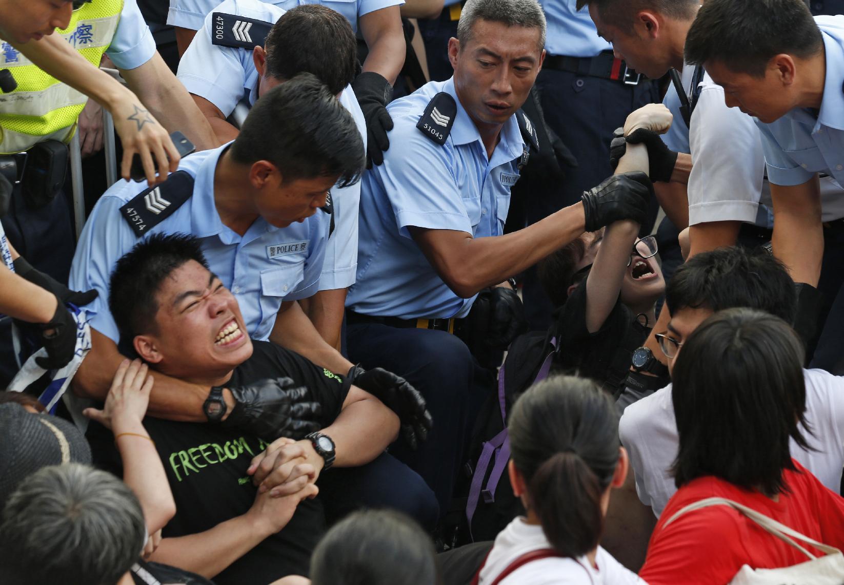 China warns against foreign meddling in Hong Kong
