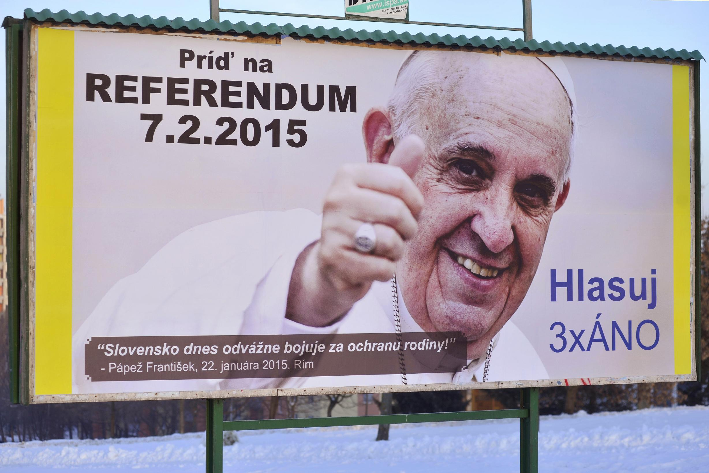 Pope's Influence Fails To Move Slovaks To Oppose Marriage & Adoption  Equality