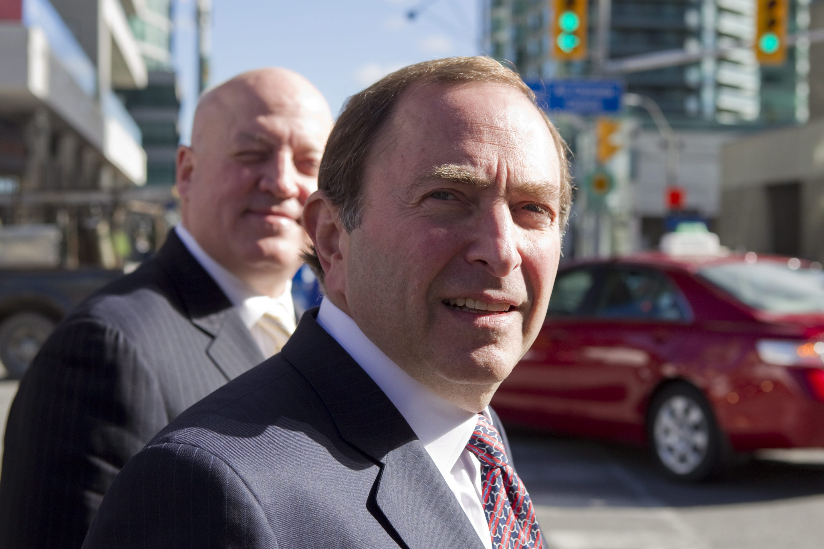 NHL commish Gary Bettman said the league's offer was aimed at starting the regular season Nov. 2. (AP)