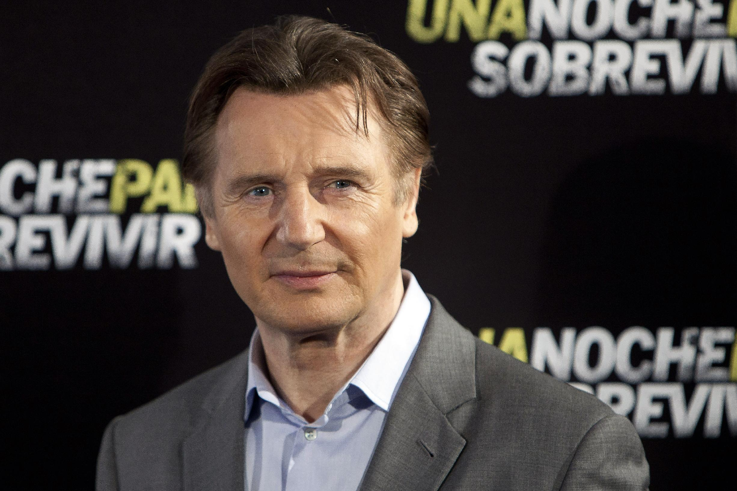 Nielsen survey says Liam Neeson is big ad man