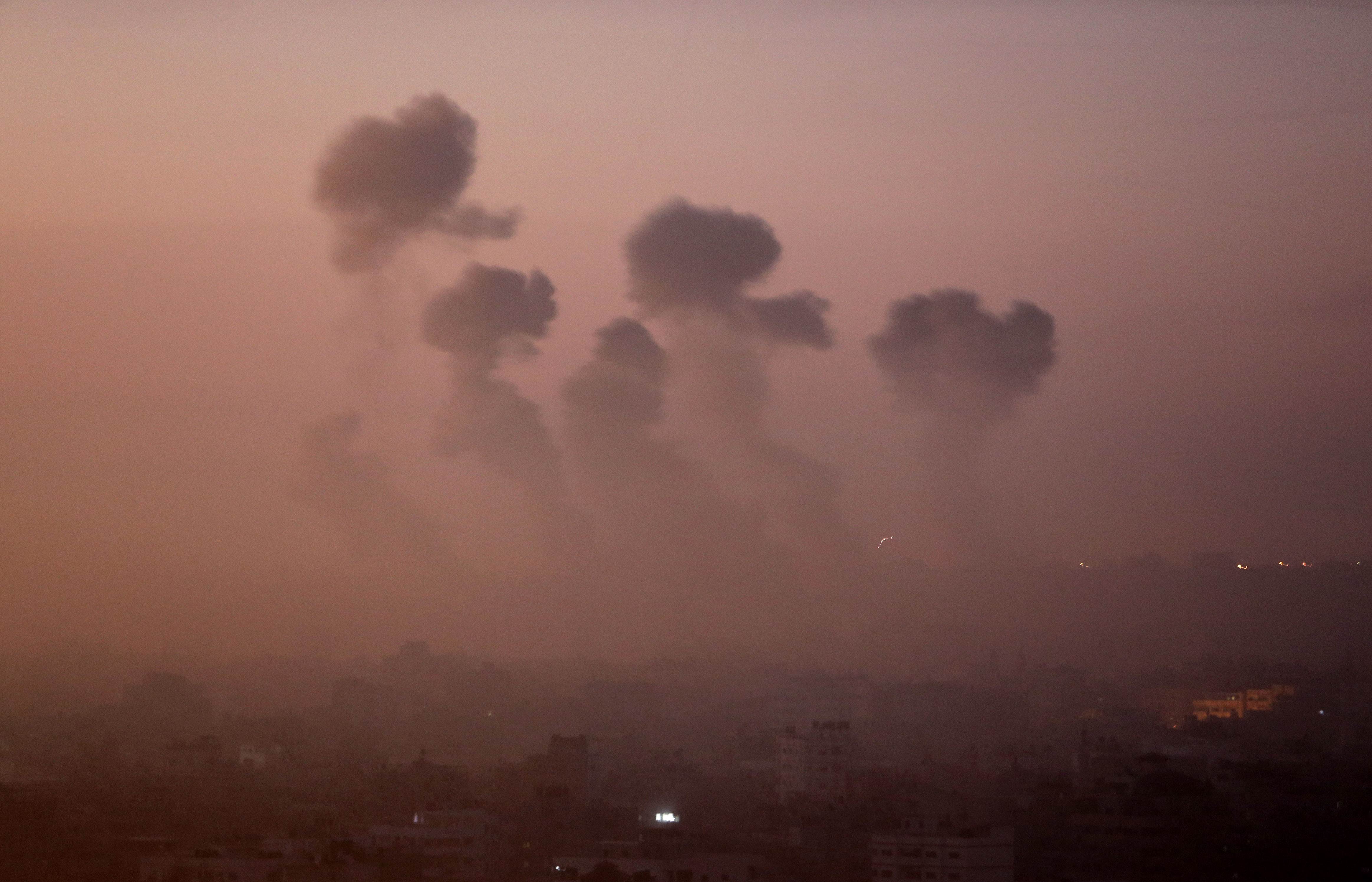 AP ANALYSIS: Amid war, endgames in Gaza emerge