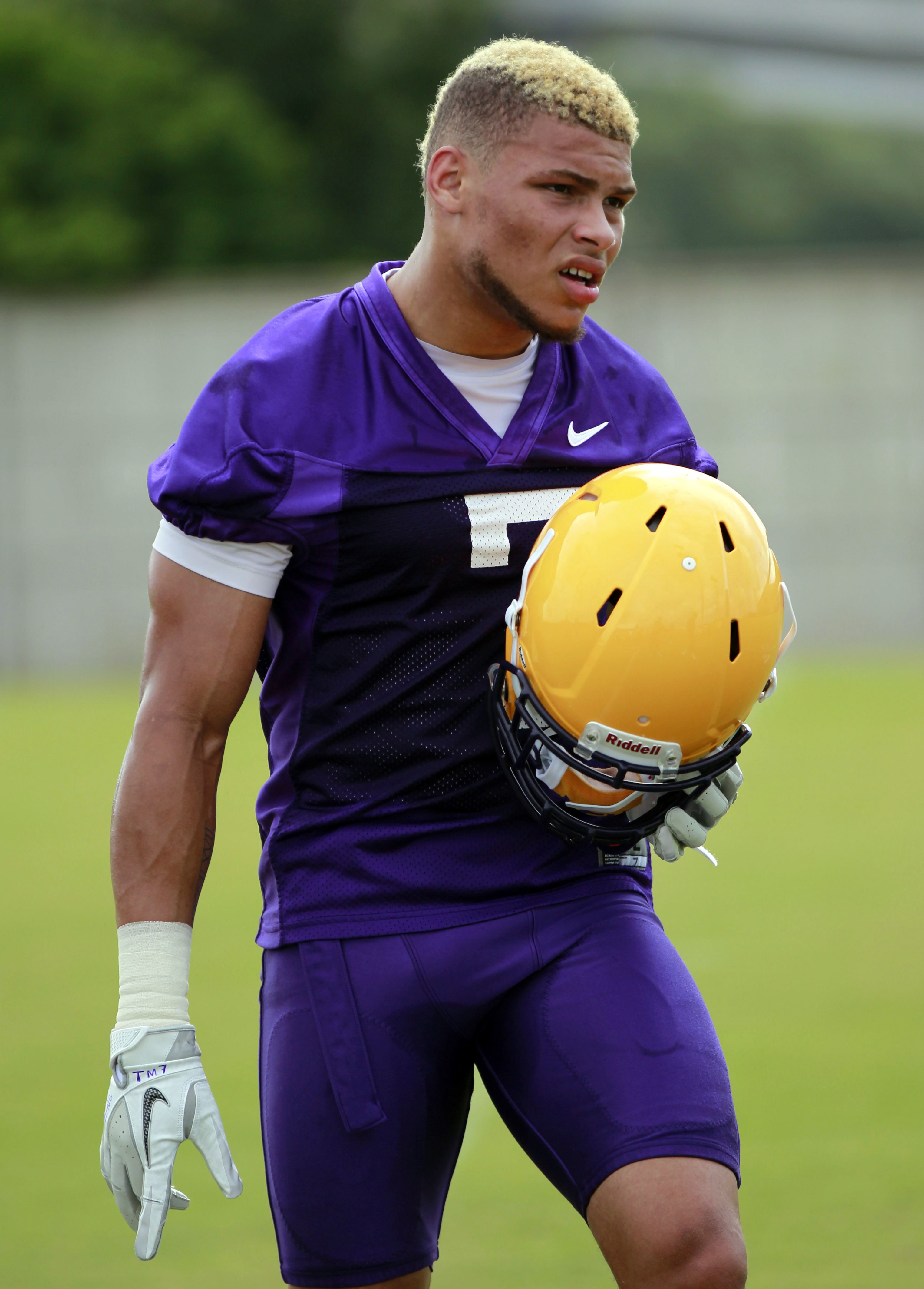 To think LSU is not going to miss Tyrann Mathieu is folly. He was a big-play guy for the Tigers. (AP)