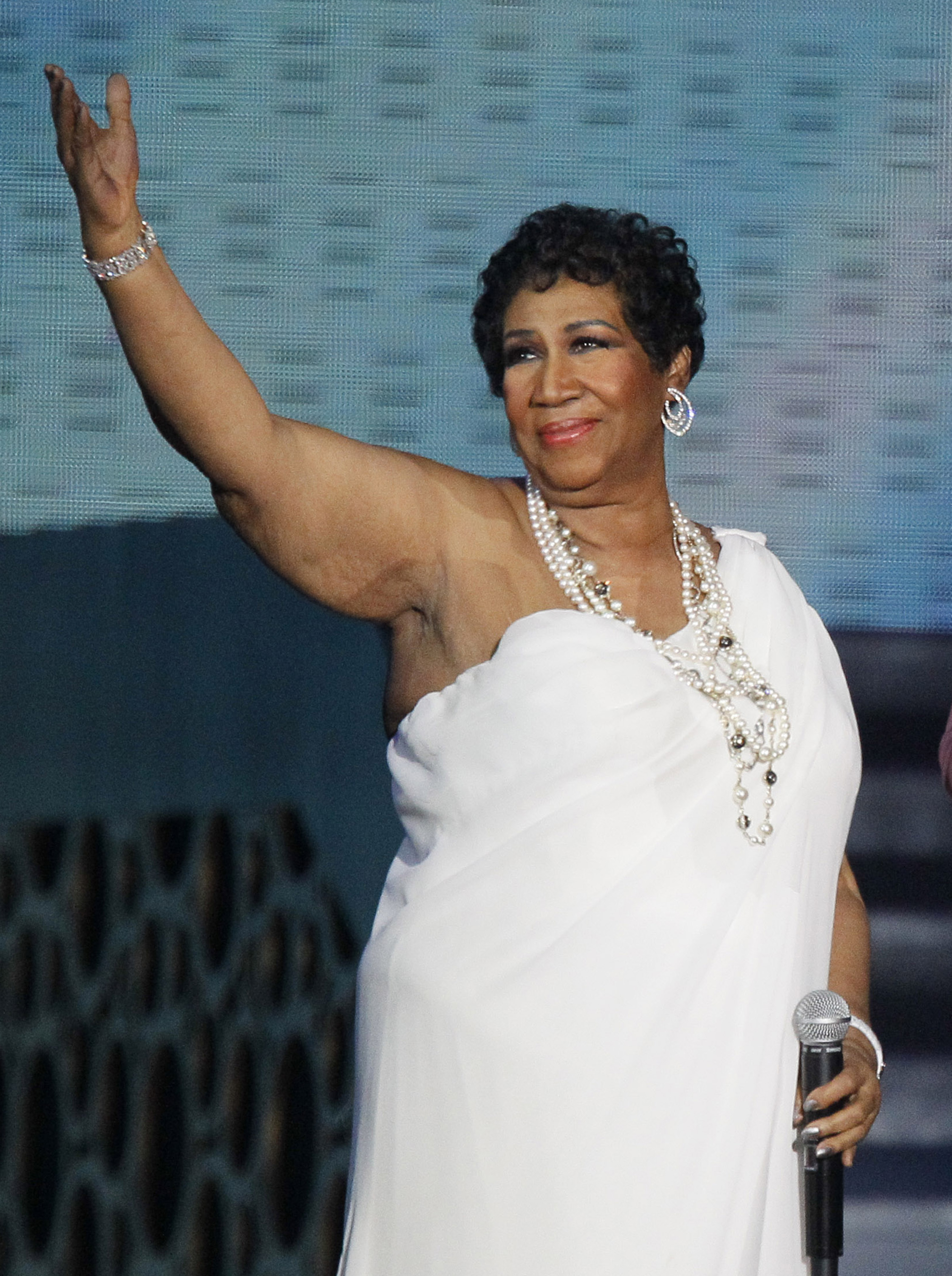 Aretha Franklin talks of her dream wedding, fiance