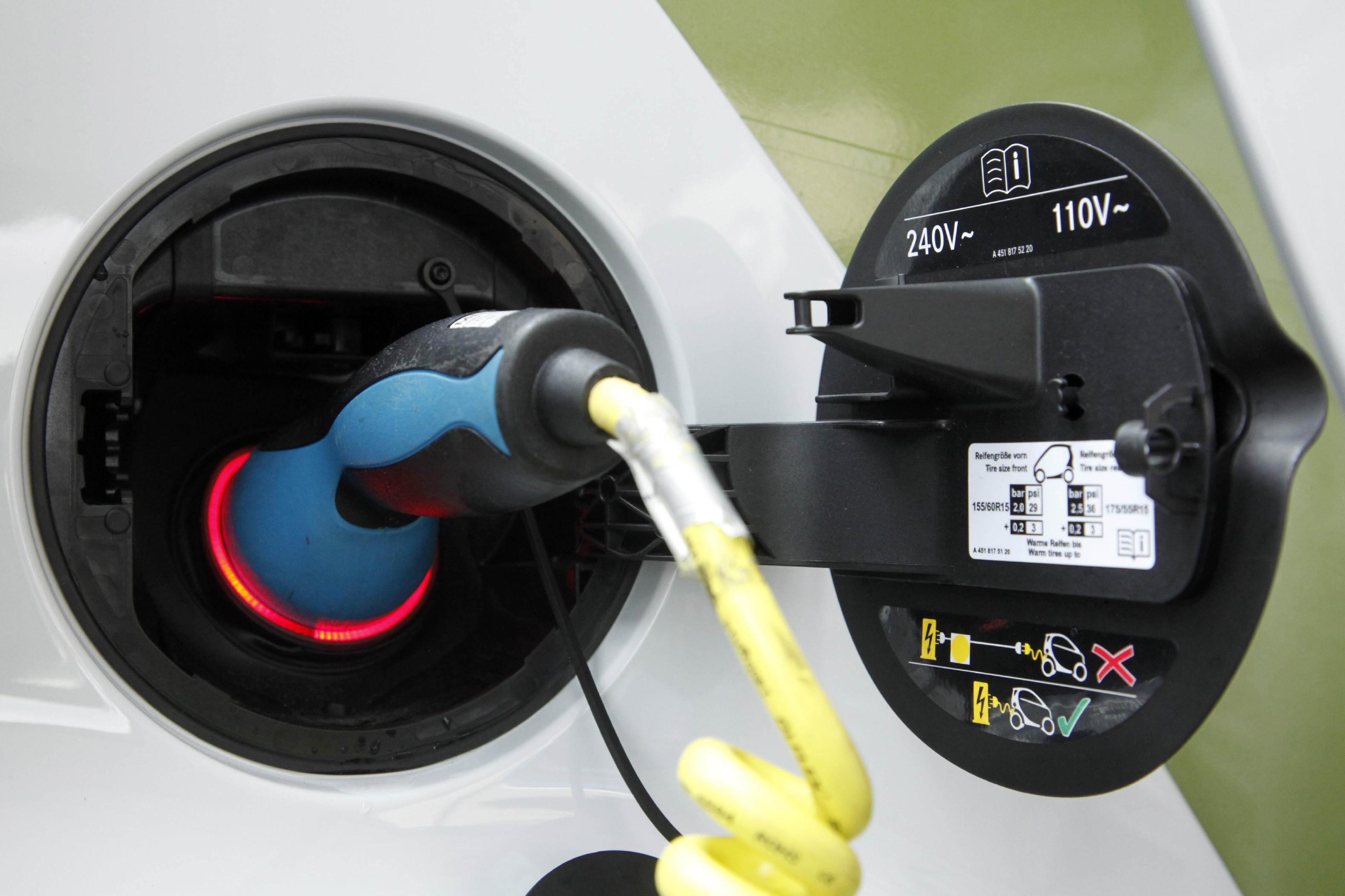 Your EV may not be so green (AP Photo/Mark Lennihan)