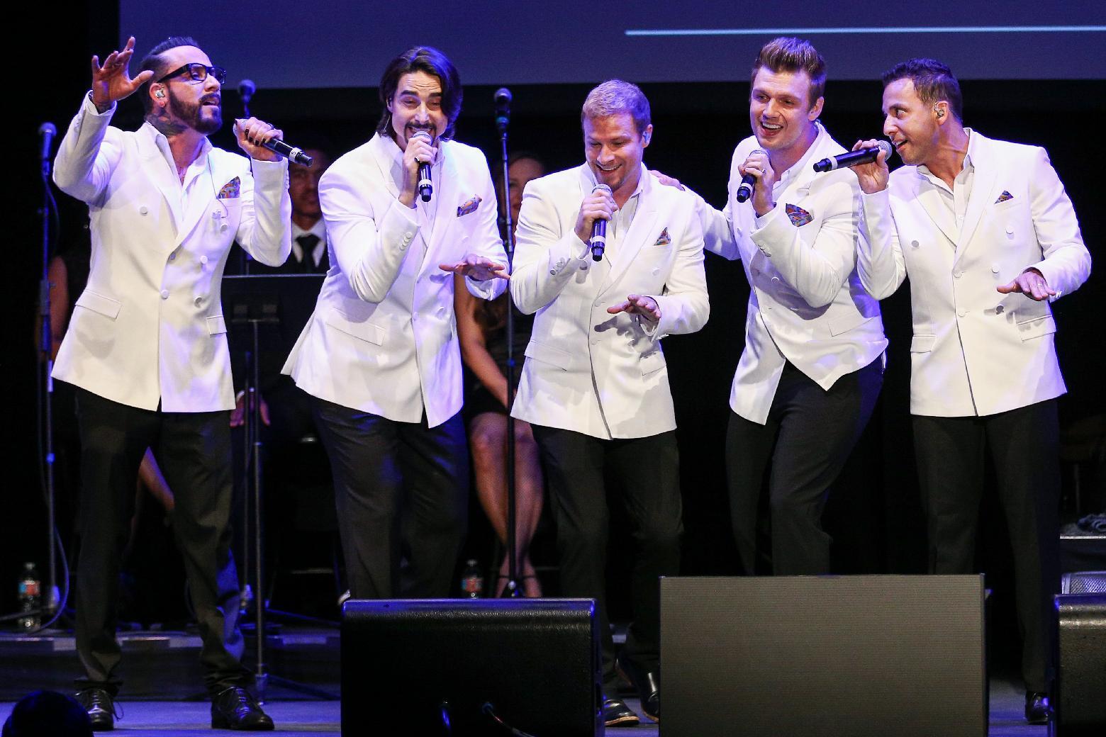 Backstreet Boys to perform Las Vegas residency
